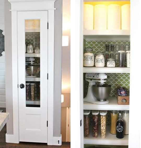 10 Inspiring Small-Space Pantries: gallery image 3