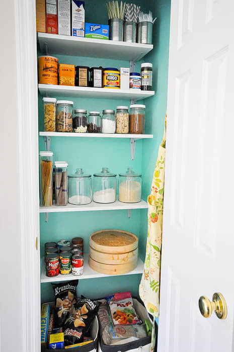 10 Inspiring Small-Space Pantries: gallery image 6