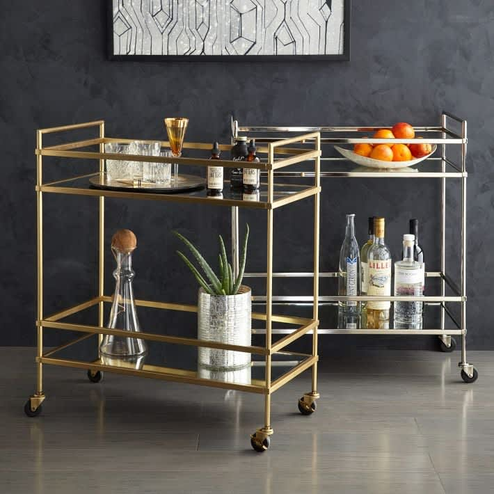 11 Handsome Bar Carts That Will Keep the Party Rolling: gallery image 5