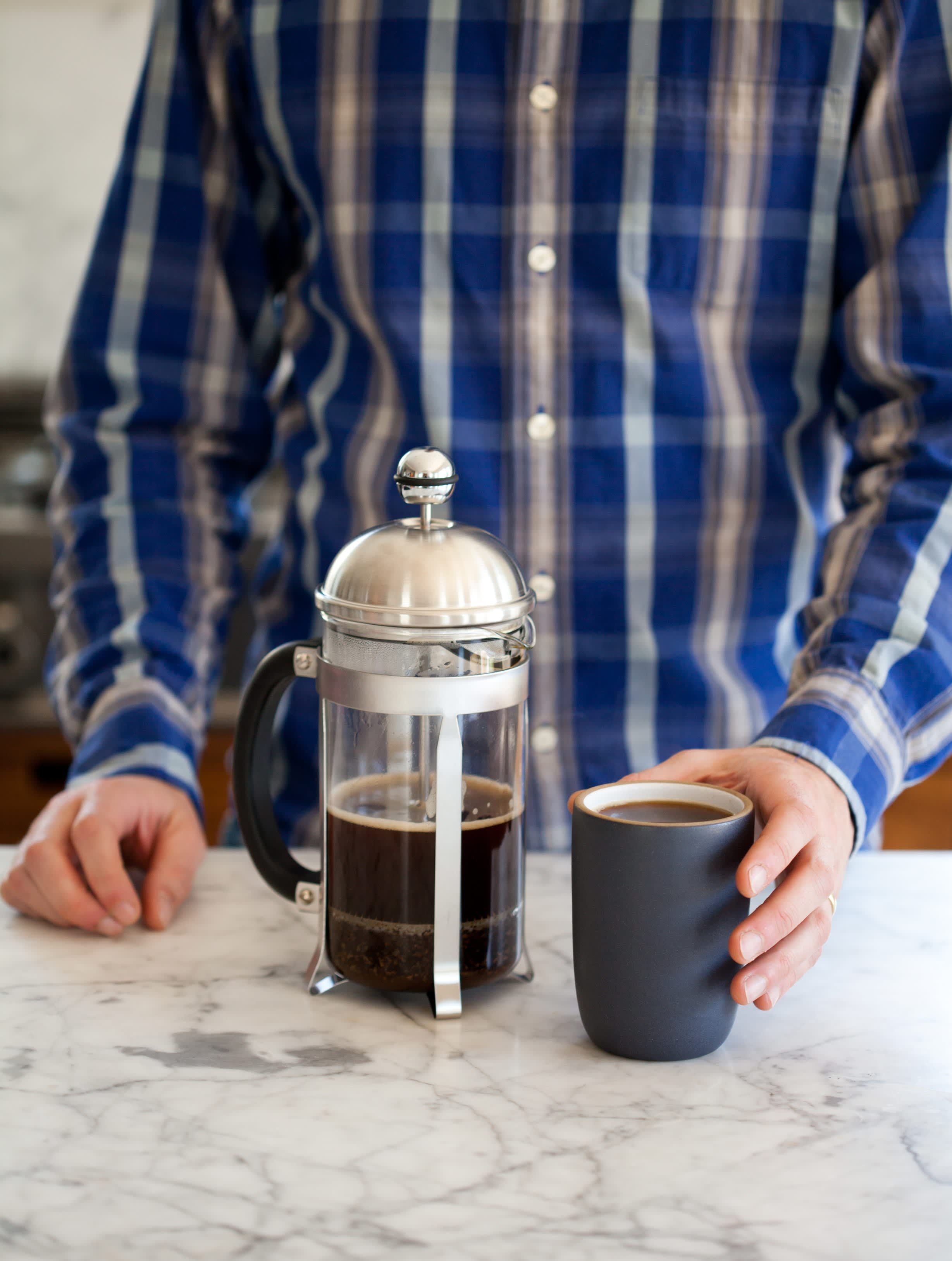 How To Make French Press Coffee: gallery image 10