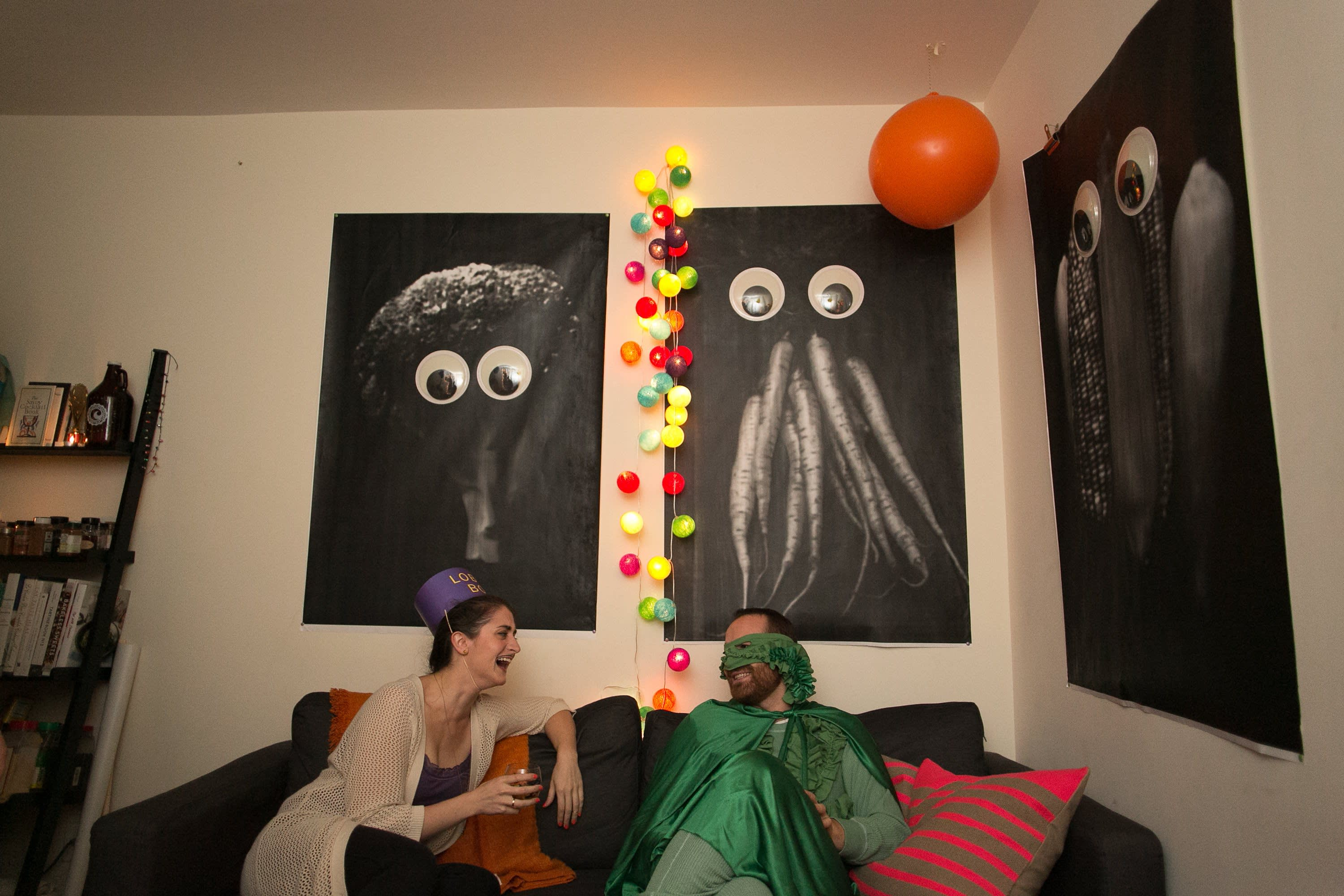 A Spooky Colorful Halloween Party: gallery image 30