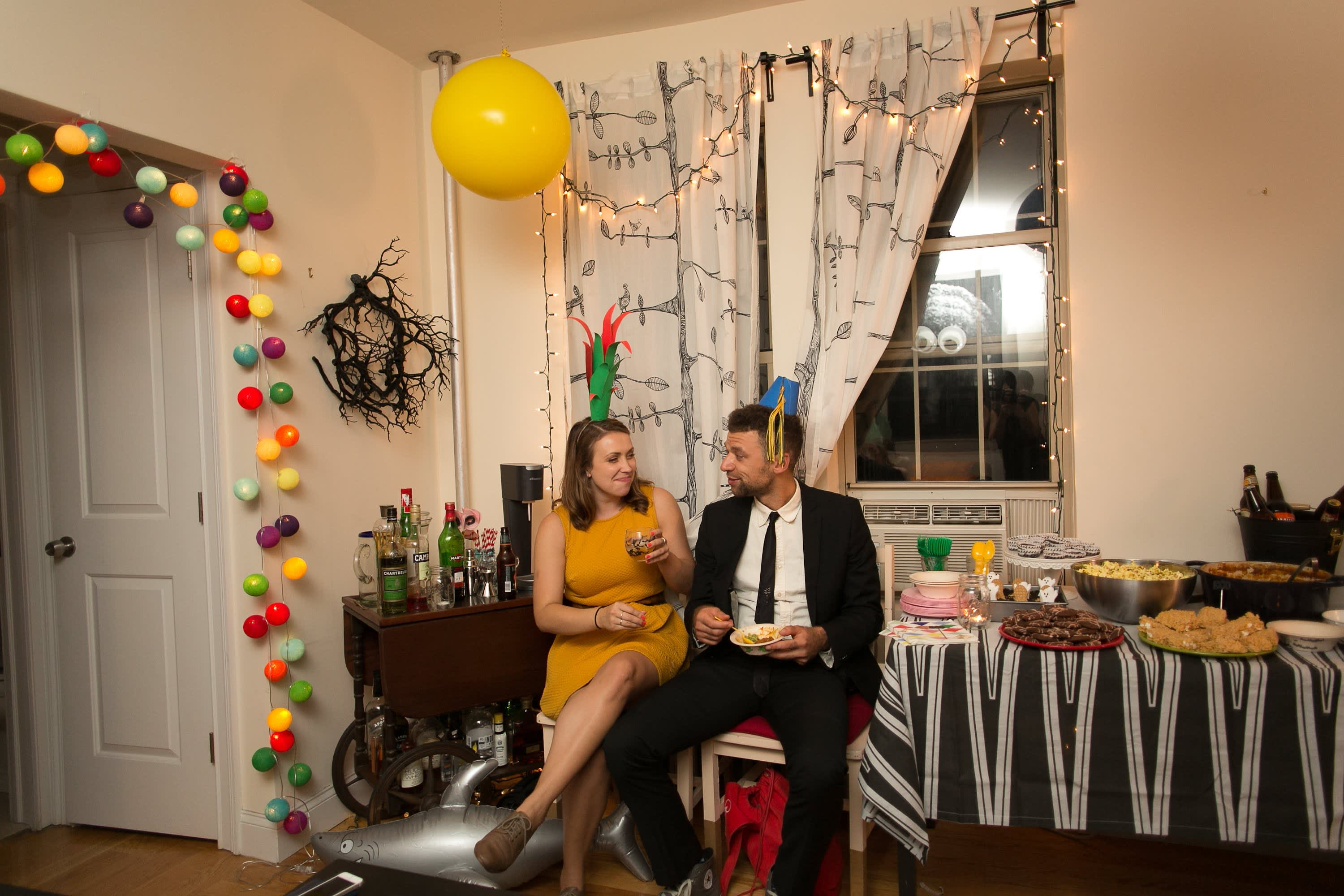 A Spooky Colorful Halloween Party: gallery image 31