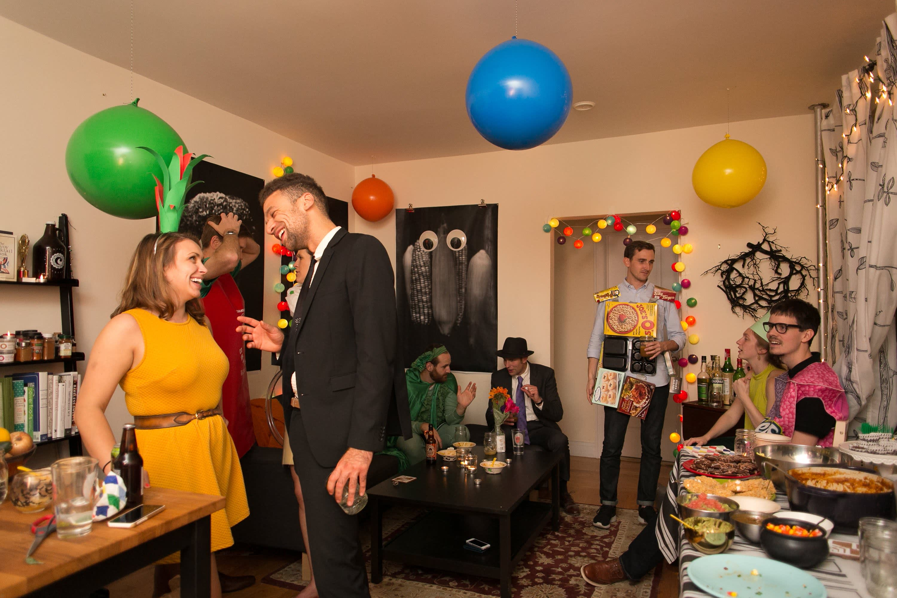A Spooky Colorful Halloween Party: gallery image 36