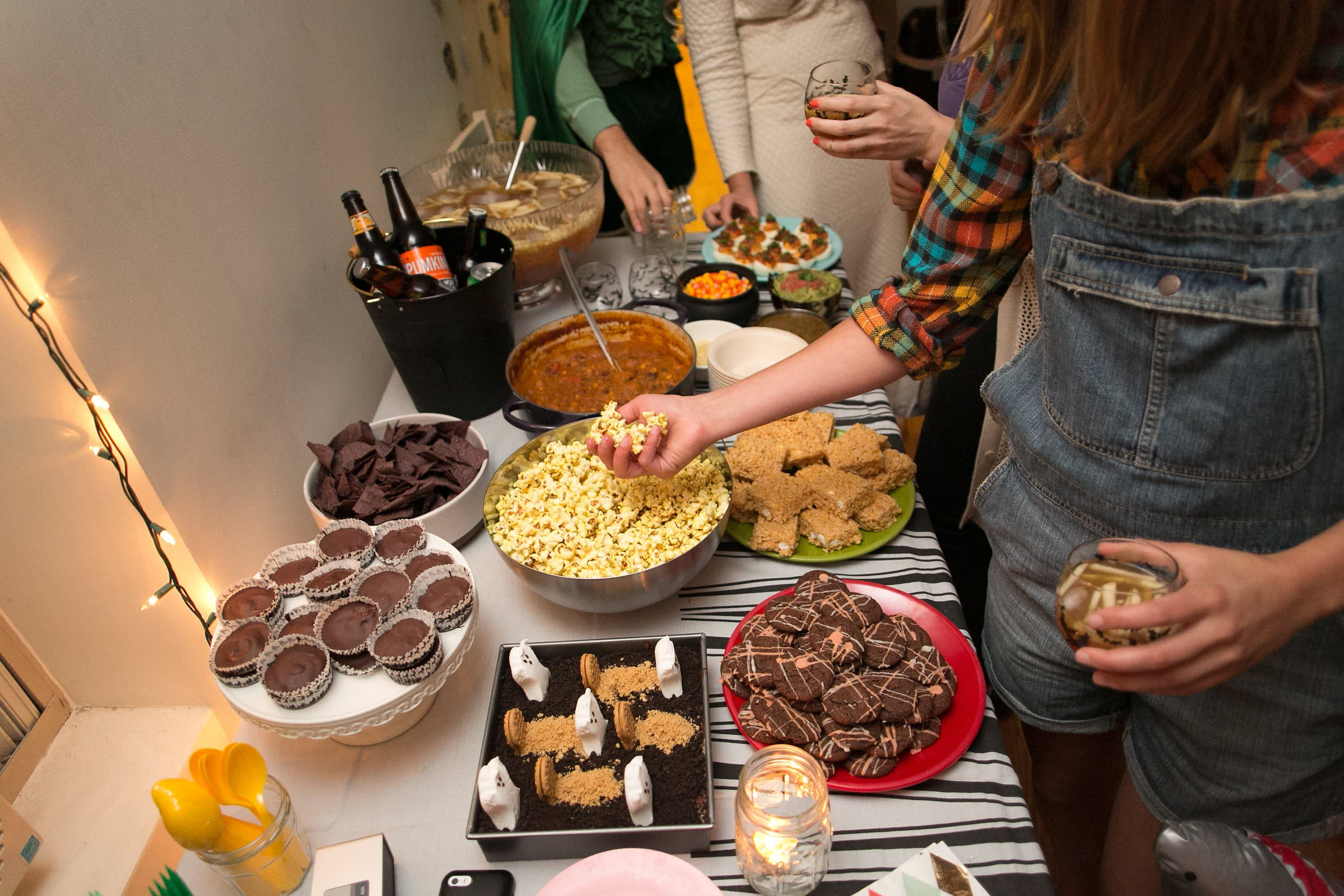 A Spooky Colorful Halloween Party: gallery image 14