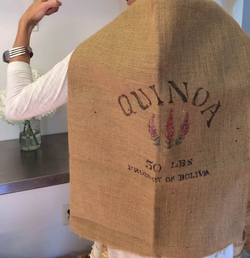 A Quinoa Woman Costume for Halloween: gallery image 5