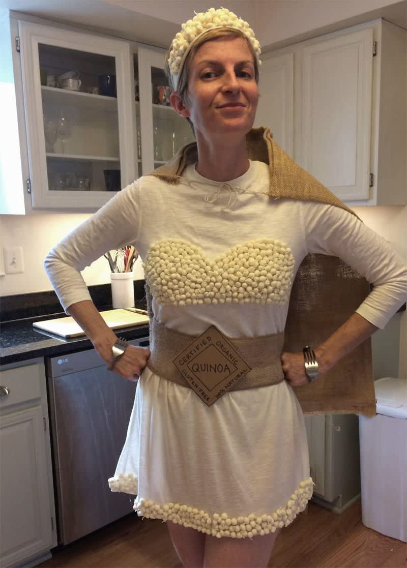 A Quinoa Woman Costume for Halloween: gallery image 6