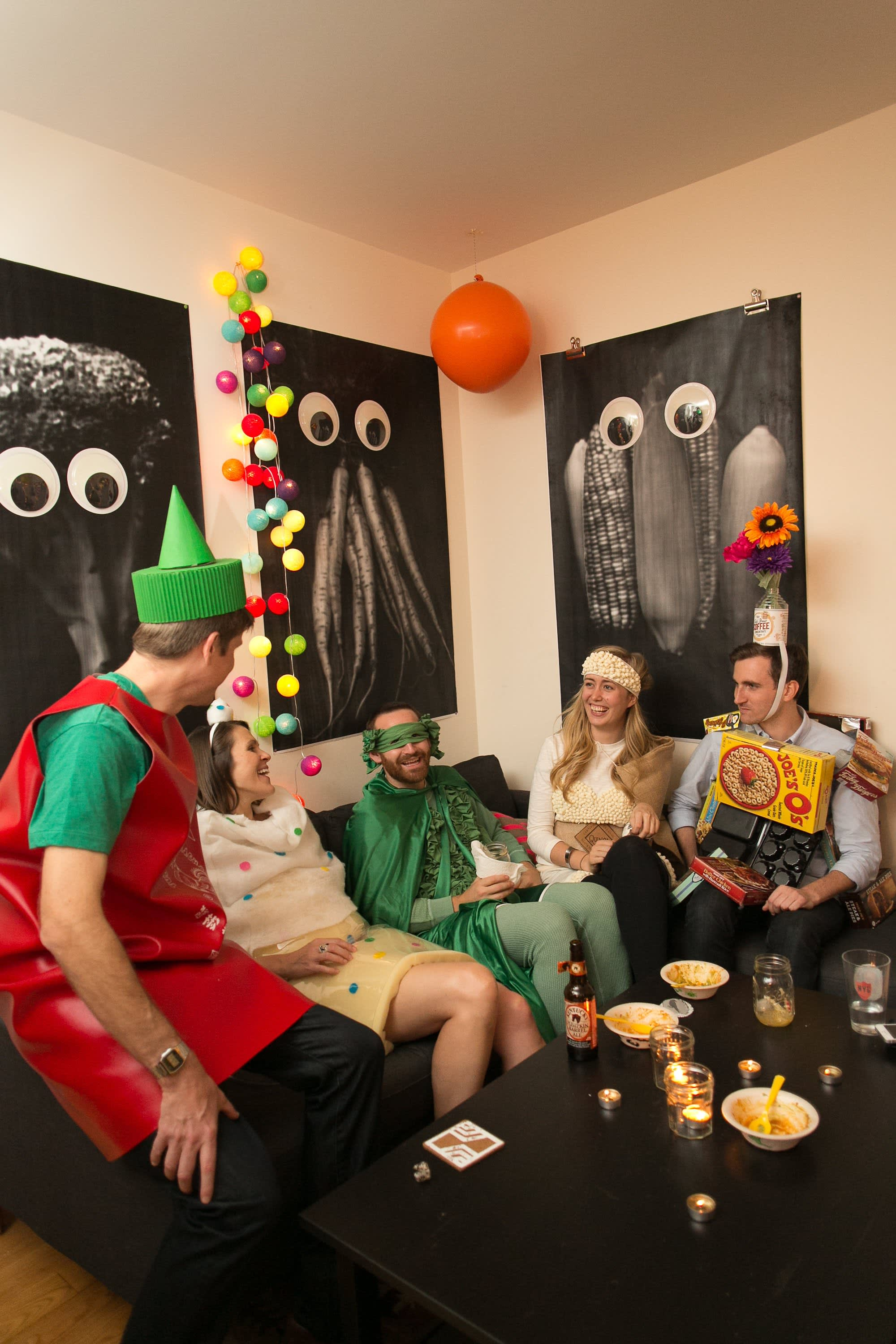 A Spooky Colorful Halloween Party: gallery image 34