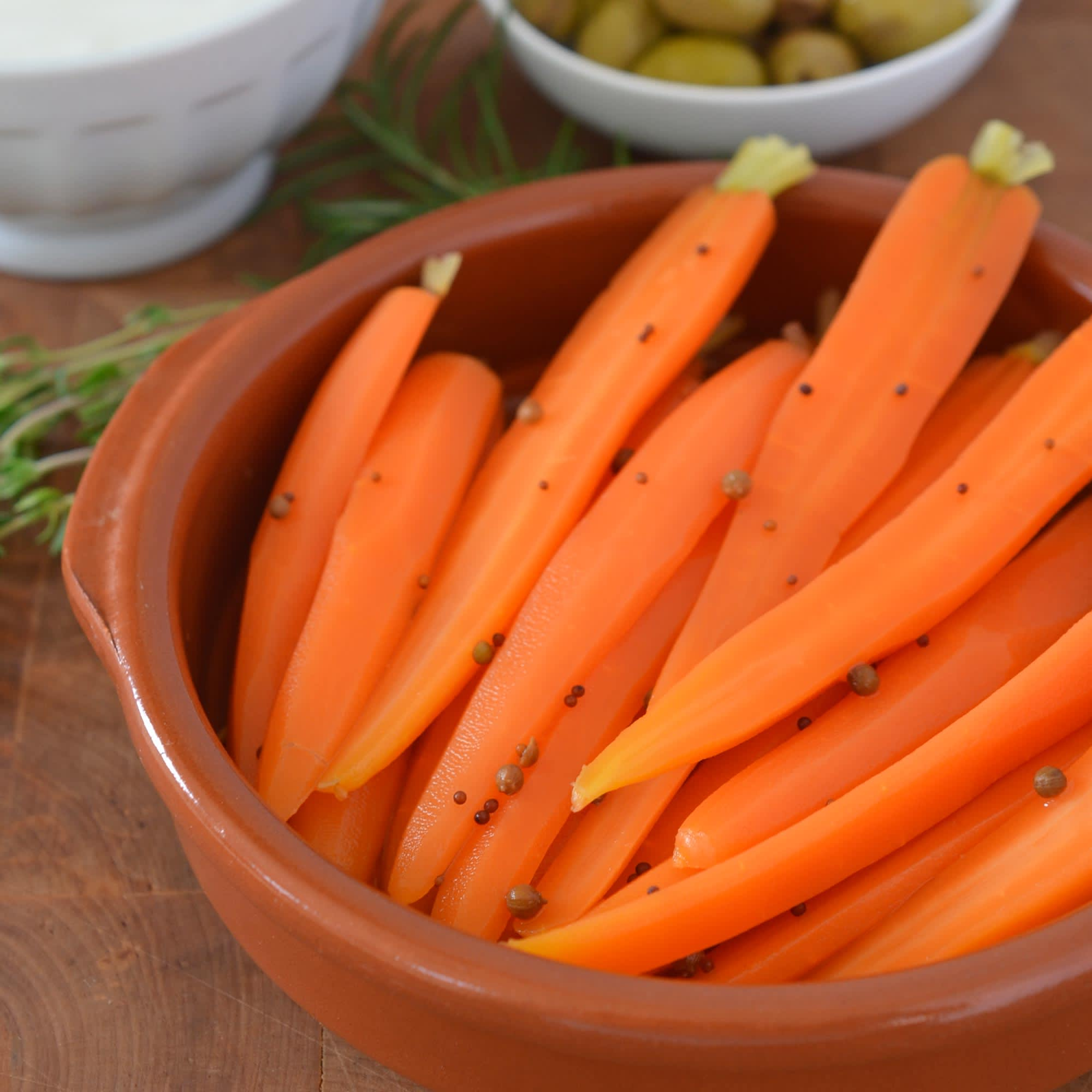 Recipe: Quick Pickled Baby Carrots