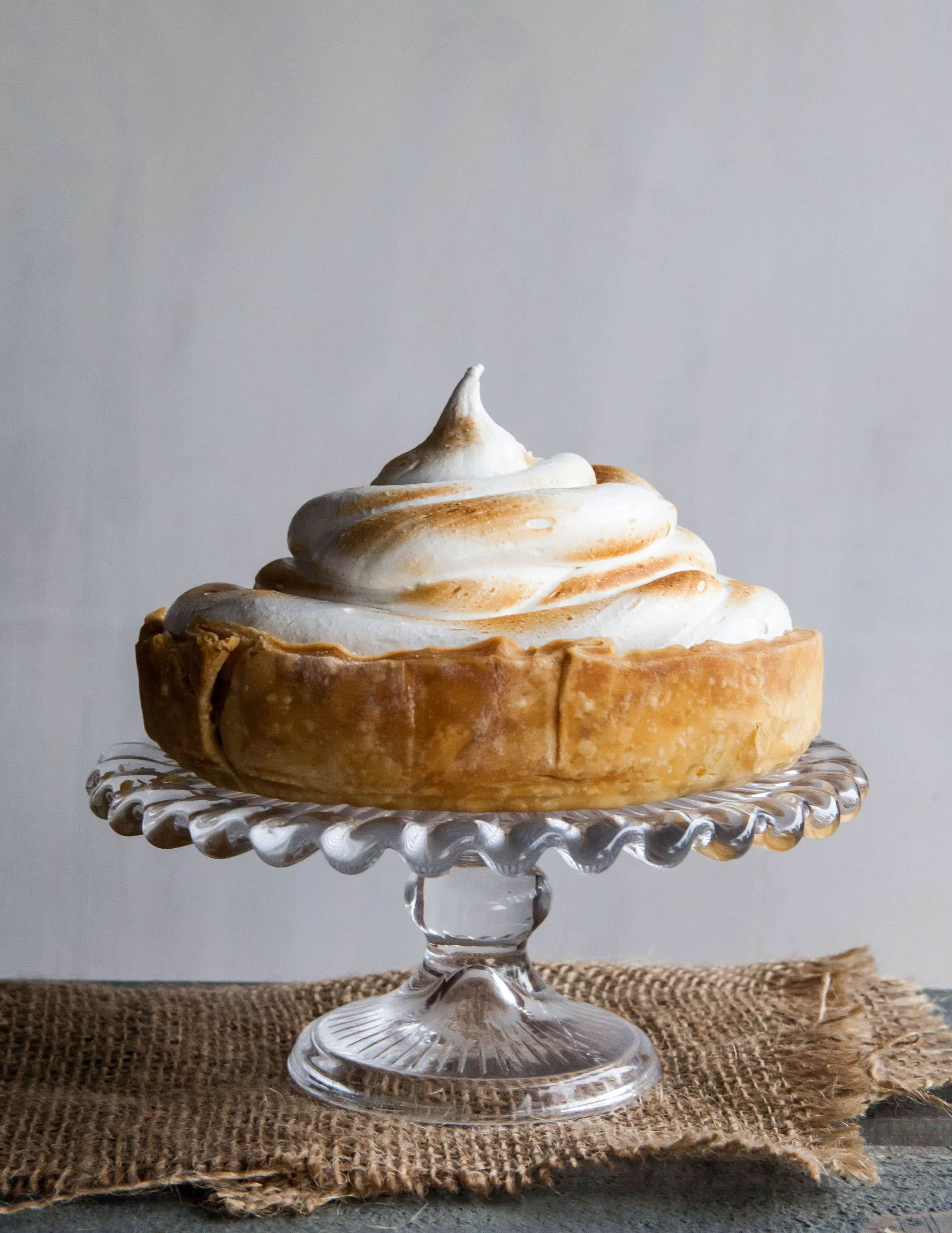 Recipe: Deep-Dish Pumpkin Meringue Pie