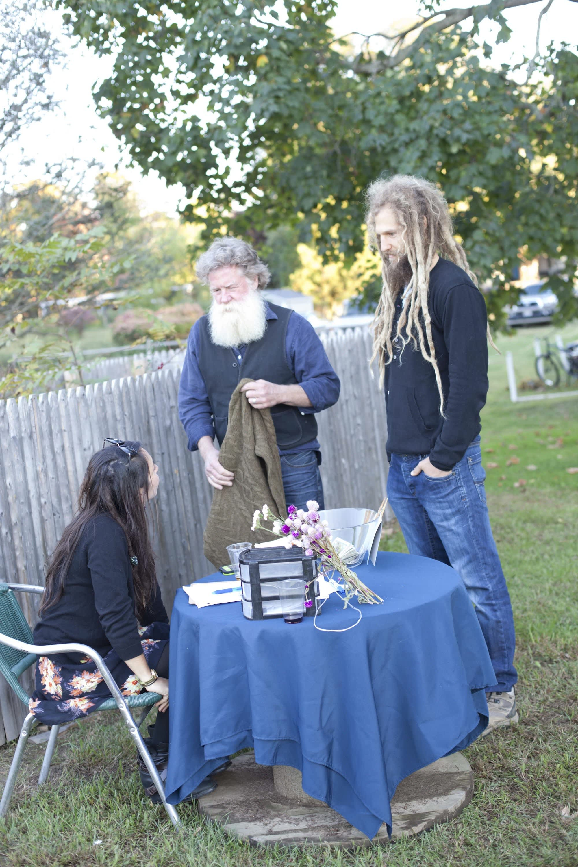 How Farmers Celebrate the End of a Season: The OktoberFeast Potluck at Amber Waves Farm: gallery image 5