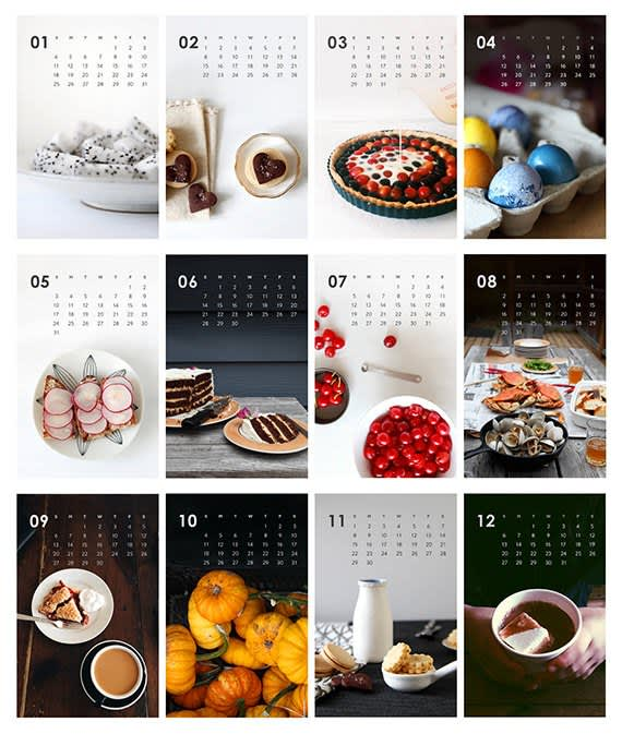 15 Food-Filled Calendars for 2015: gallery image 7