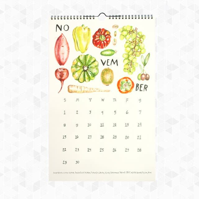 15 Food-Filled Calendars for 2015: gallery image 1