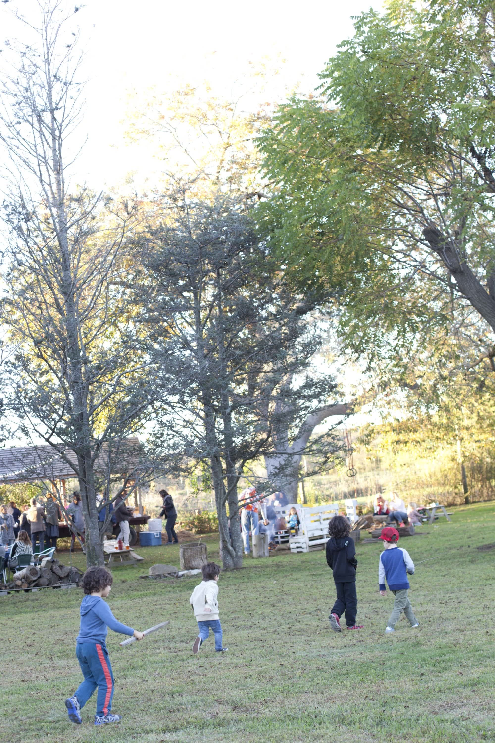 How Farmers Celebrate the End of a Season: The OktoberFeast Potluck at Amber Waves Farm: gallery image 38