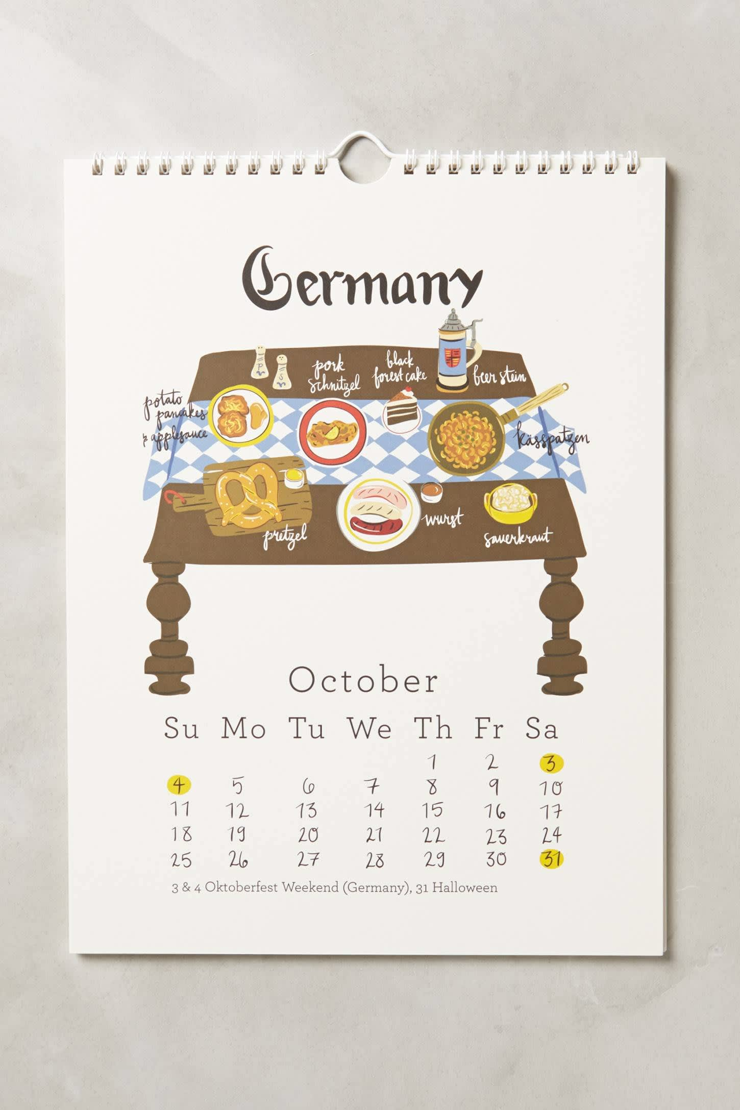 15 Food-Filled Calendars for 2015: gallery image 3