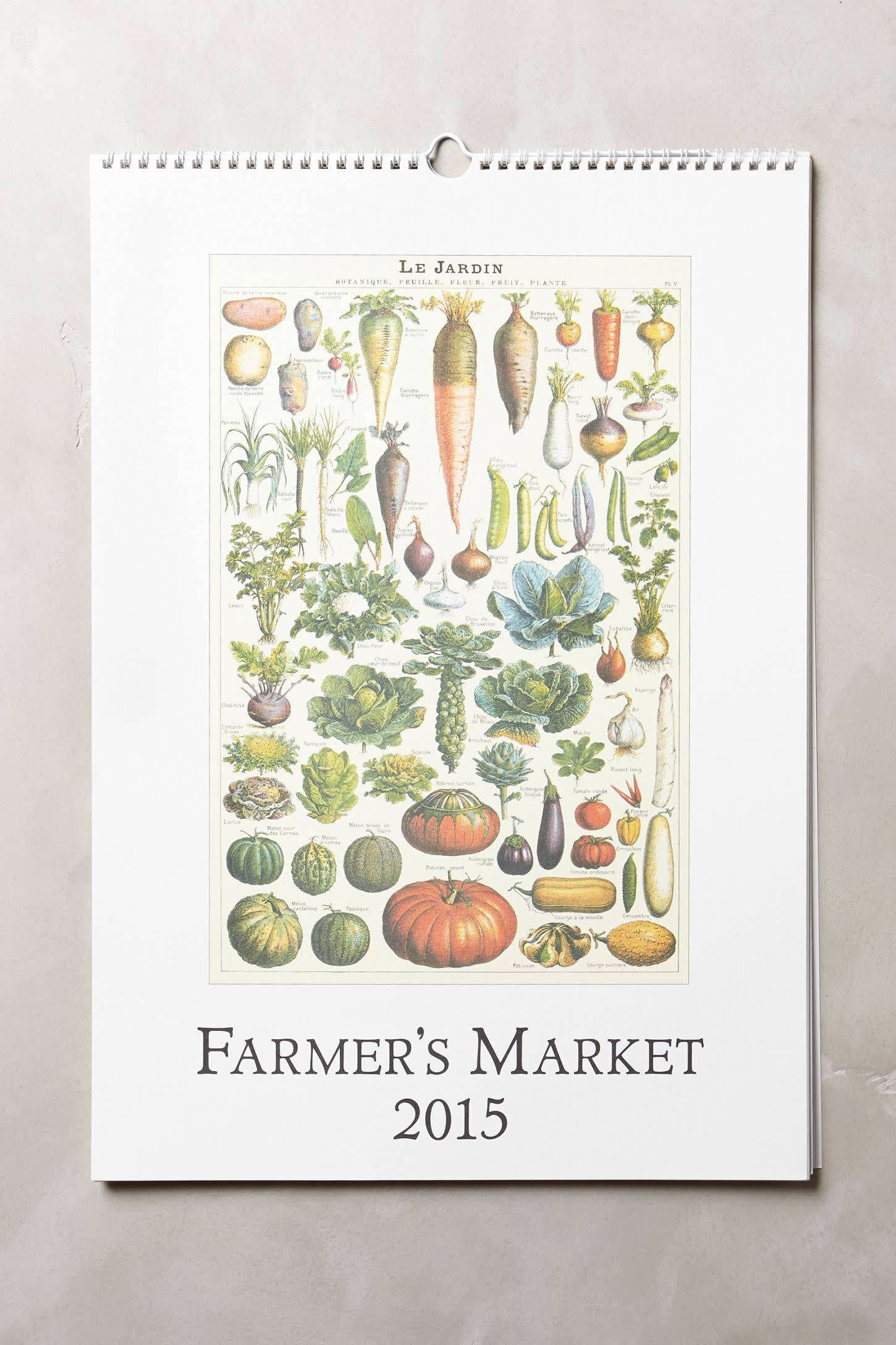 15 Food-Filled Calendars for 2015: gallery image 6