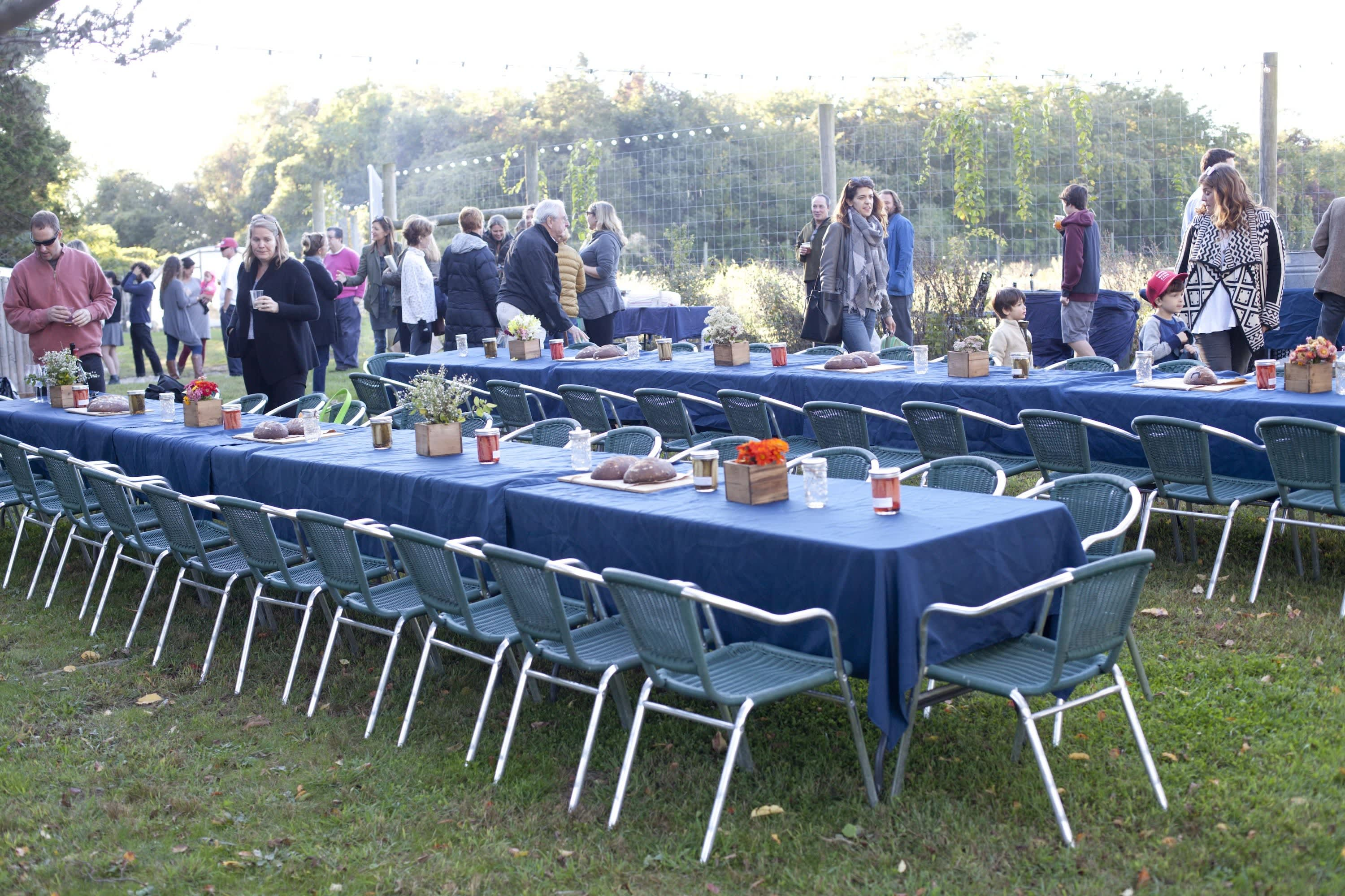How Farmers Celebrate the End of a Season: The OktoberFeast Potluck at Amber Waves Farm: gallery image 14