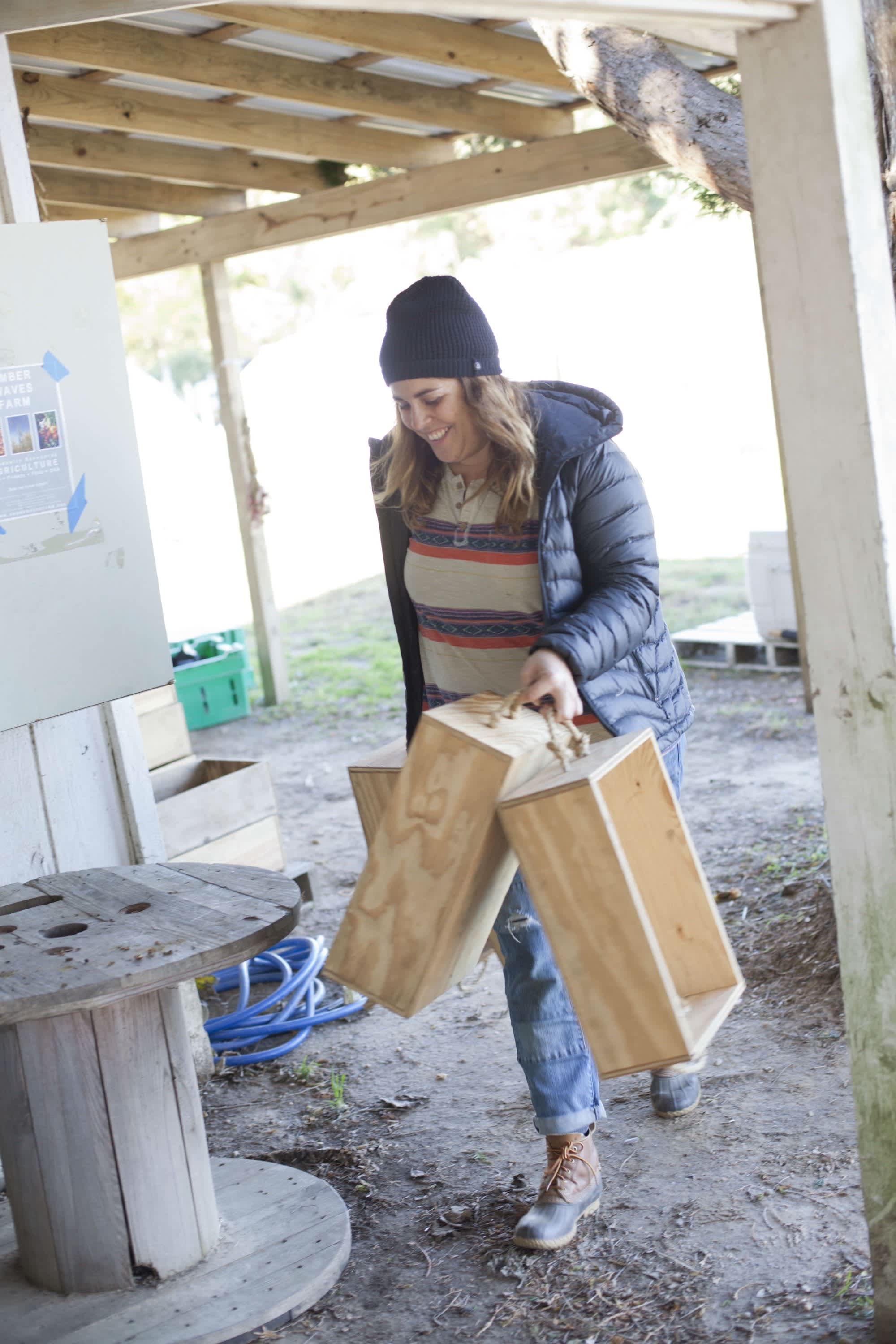How the Farm Puts Itself to Bed: The Last Day of the Season at Amber Waves Farm: gallery image 23