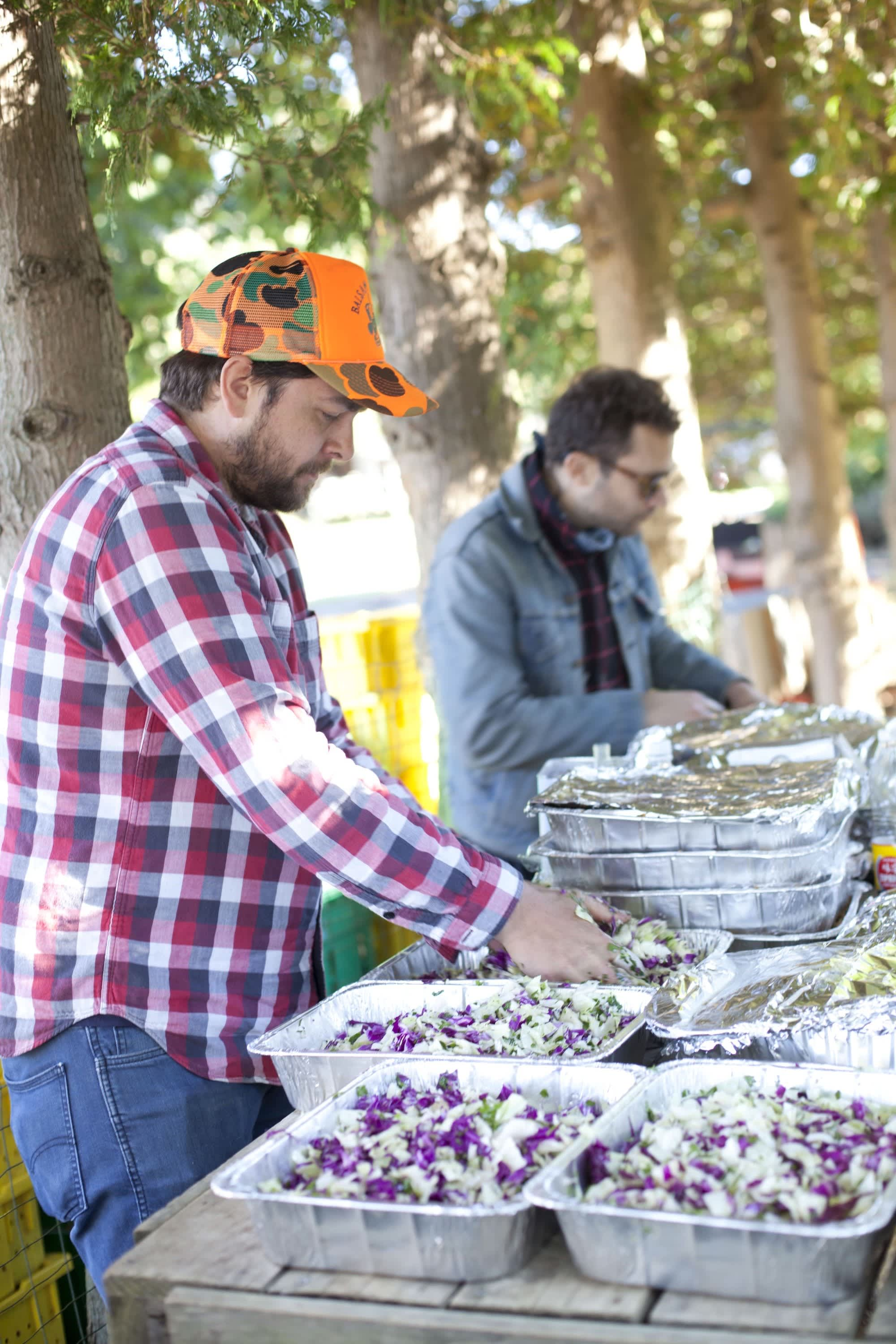 How Farmers Celebrate the End of a Season: The OktoberFeast Potluck at Amber Waves Farm: gallery image 25