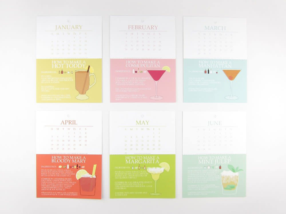 15 Food-Filled Calendars for 2015: gallery image 12