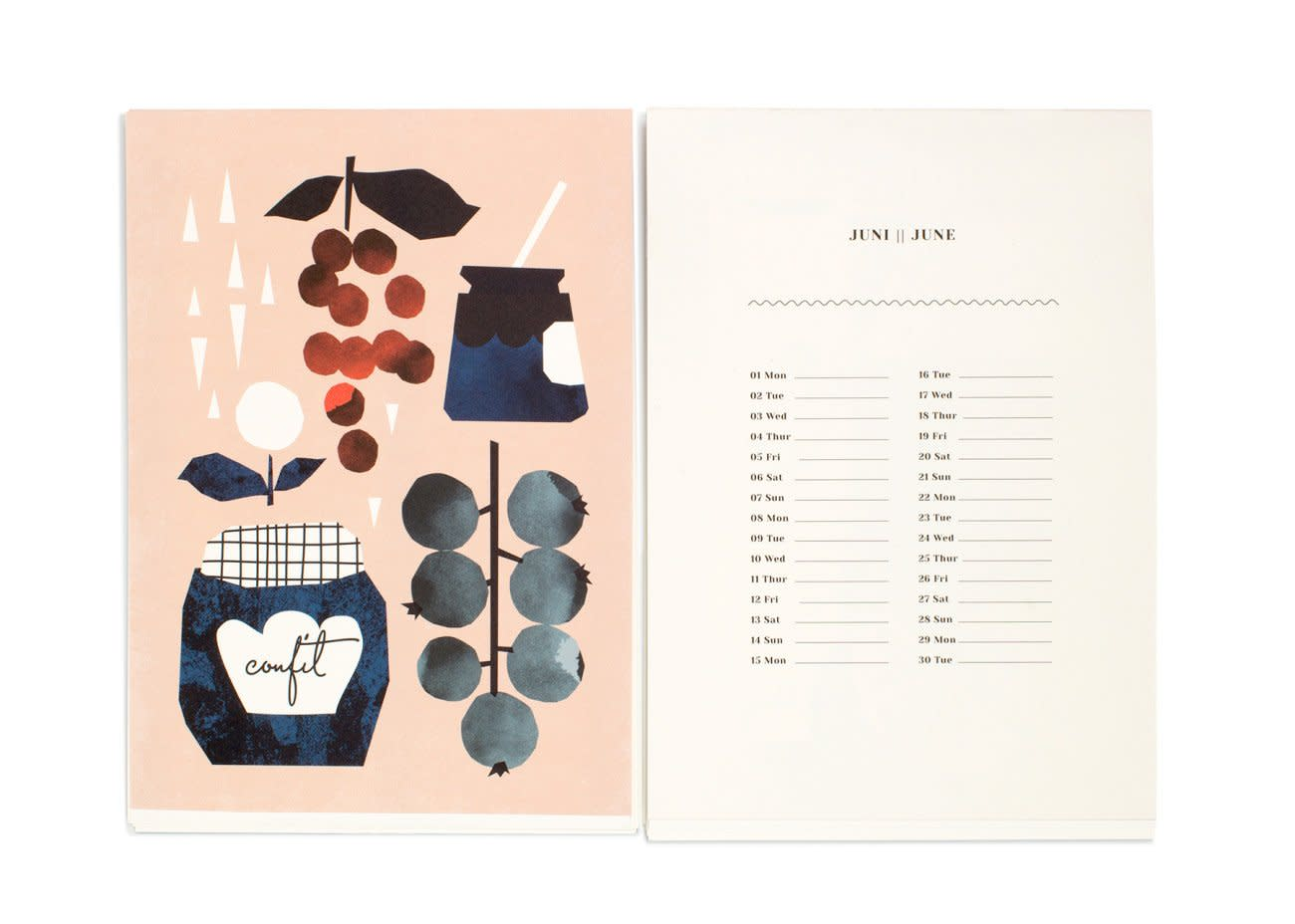 15 Food-Filled Calendars for 2015: gallery image 4