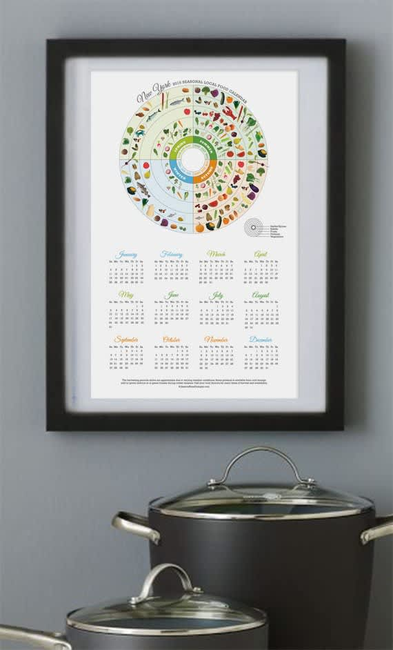 15 Food-Filled Calendars for 2015: gallery image 11