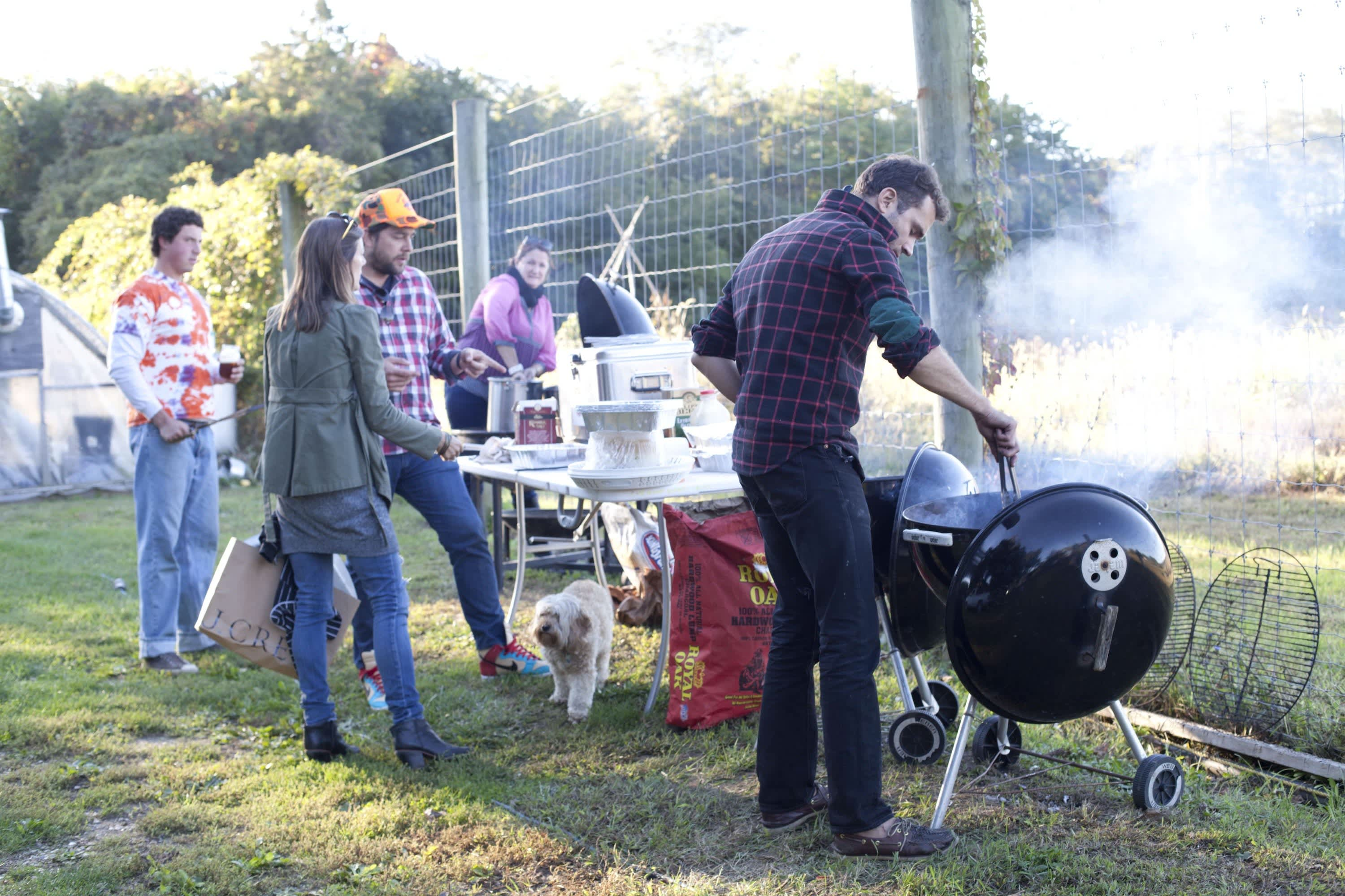 How Farmers Celebrate the End of a Season: The OktoberFeast Potluck at Amber Waves Farm: gallery image 39