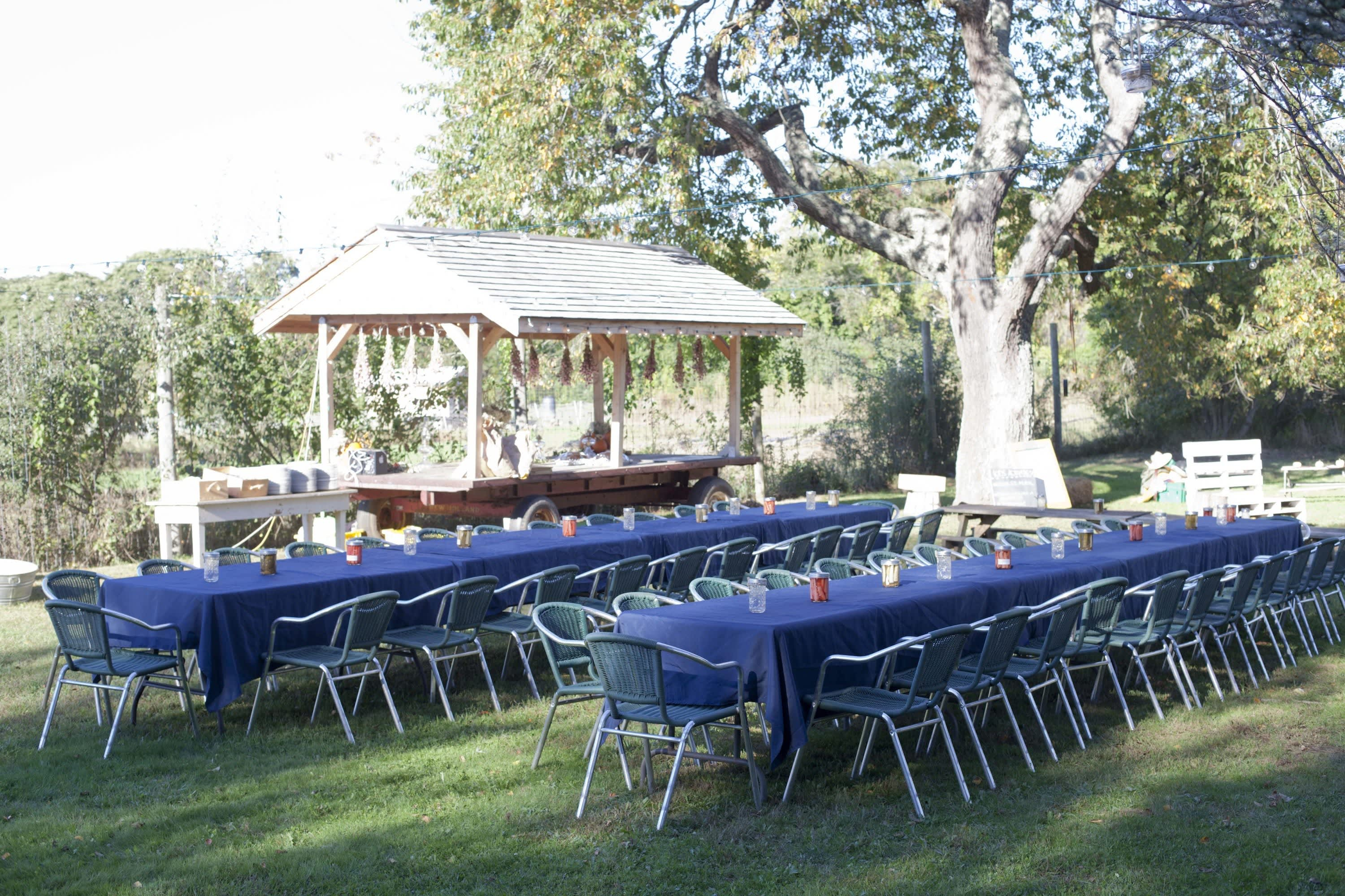 How Farmers Celebrate the End of a Season: The OktoberFeast Potluck at Amber Waves Farm: gallery image 20