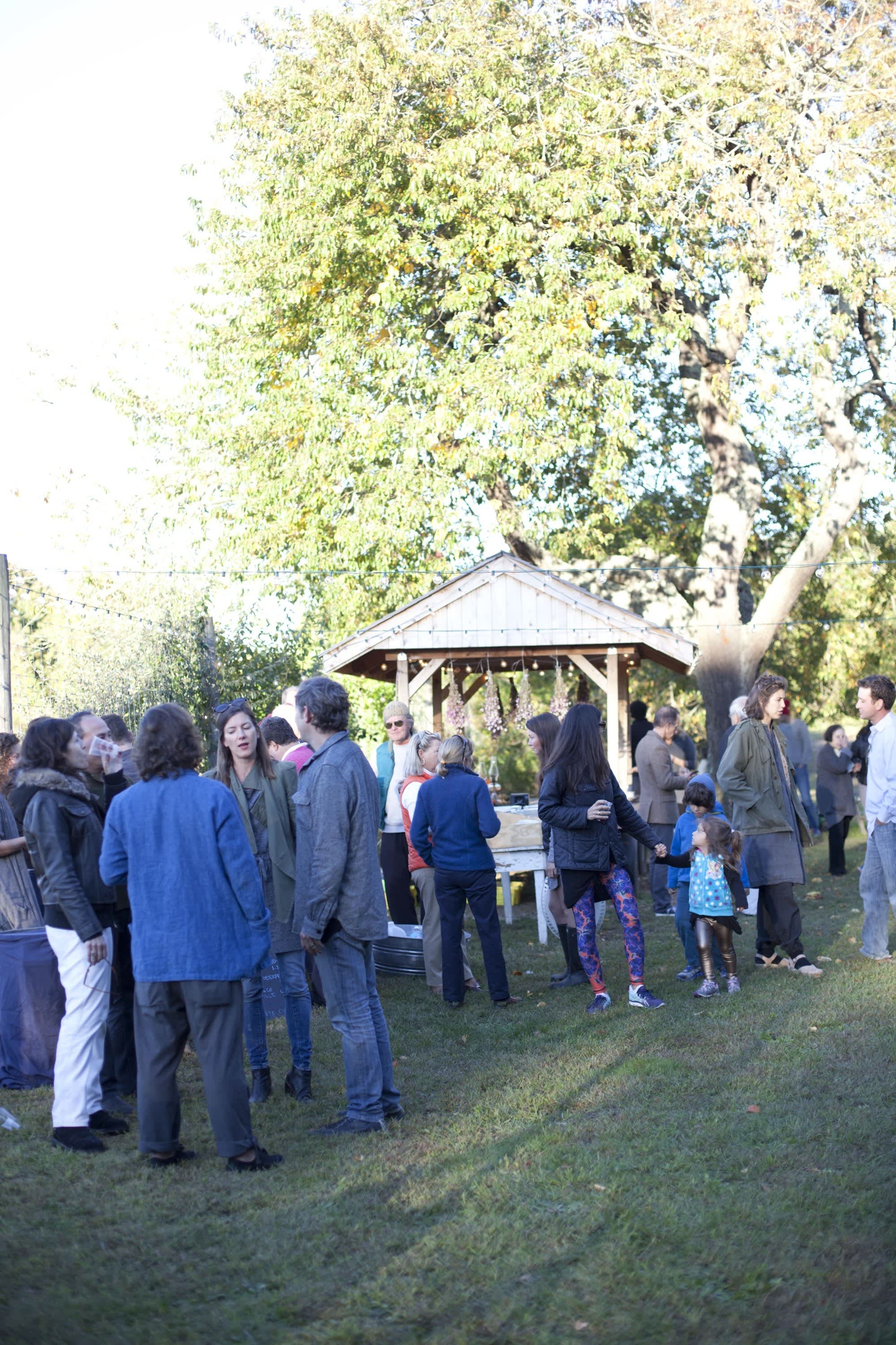 How Farmers Celebrate the End of a Season: The OktoberFeast Potluck at Amber Waves Farm: gallery image 9