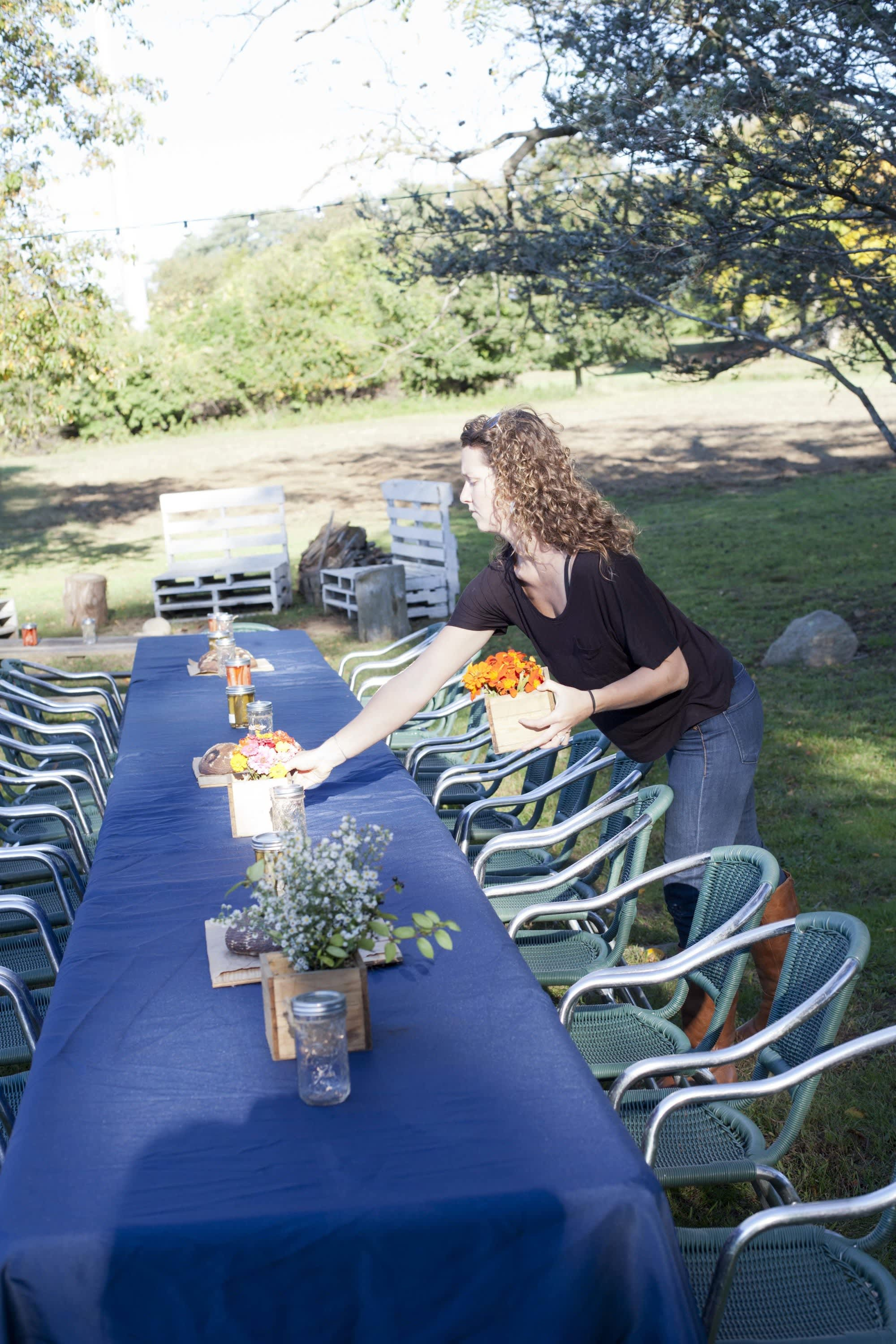 How Farmers Celebrate the End of a Season: The OktoberFeast Potluck at Amber Waves Farm: gallery image 48
