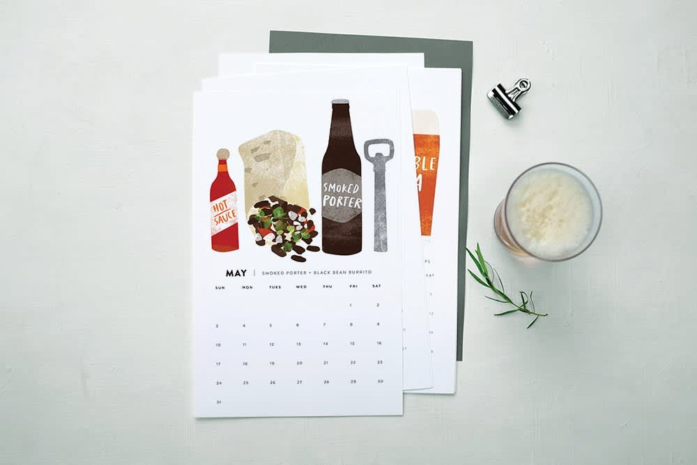 15 Food-Filled Calendars for 2015: gallery image 2