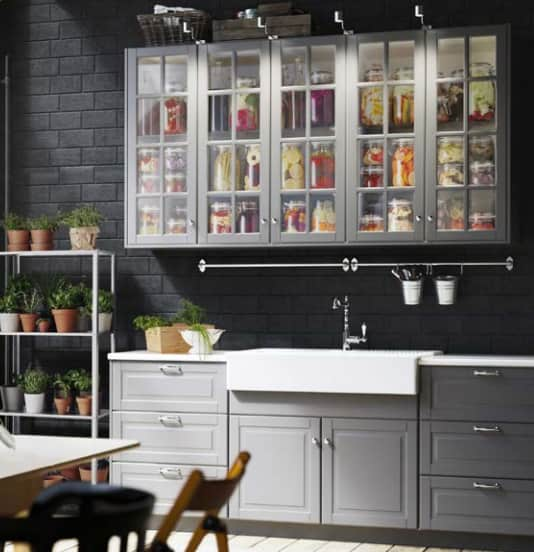 Ikea Kitchen Bodbyn Grey: IKEA's New SEKTION Cabinets: Sizes, Prices & Photos!