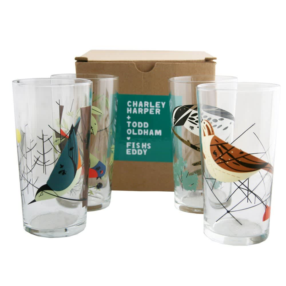 15 Patterned Glasses to Perk up Your Dinner Table: gallery image 6