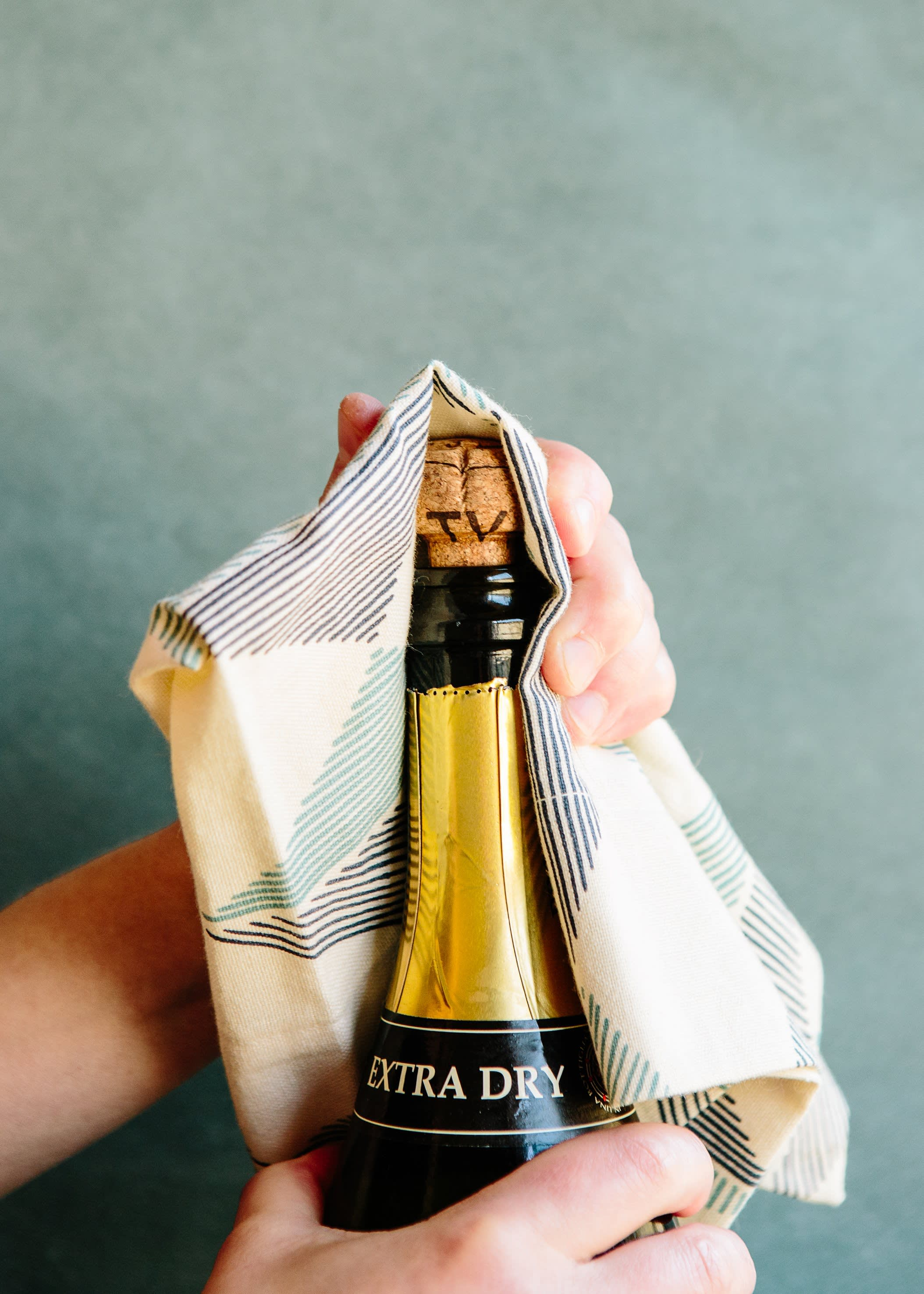 How To Open a Bottle of Champagne: gallery image 5