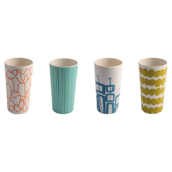 15 Patterned Glasses to Perk up Your Dinner Table: gallery image 9