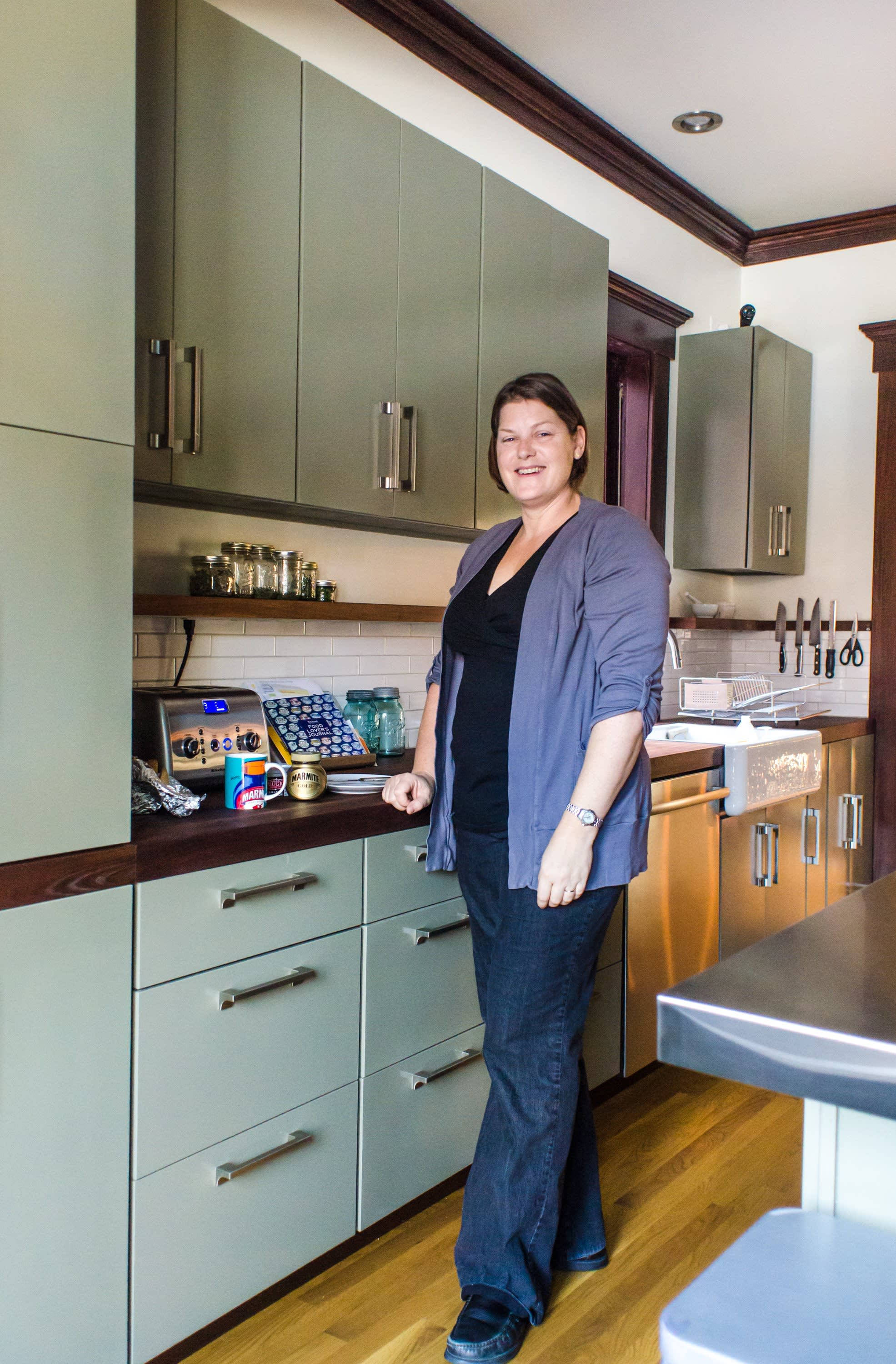 Bethia & Andy's Renovated Victorian Kitchen in Columbus: gallery image 26