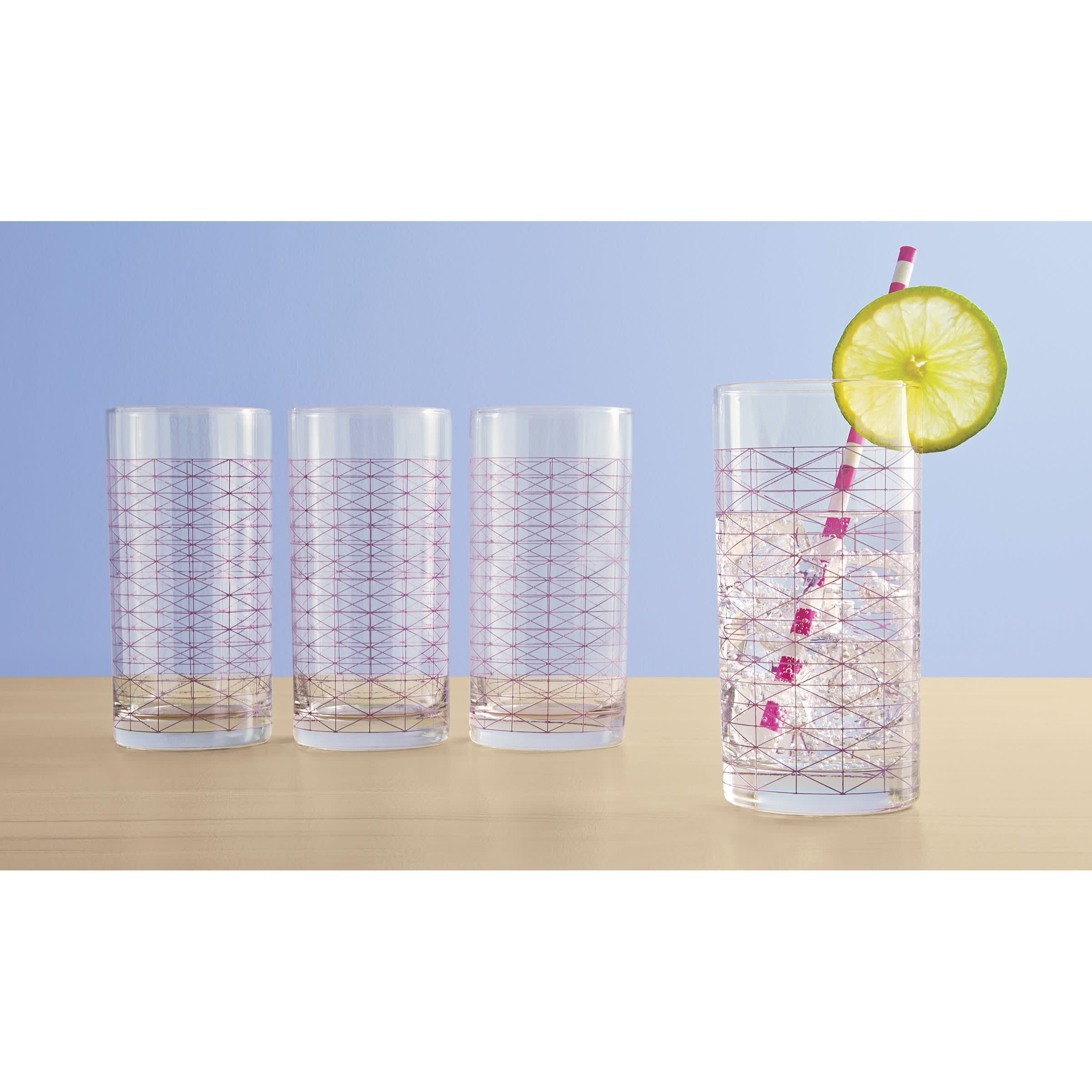 15 Patterned Glasses to Perk up Your Dinner Table: gallery image 8