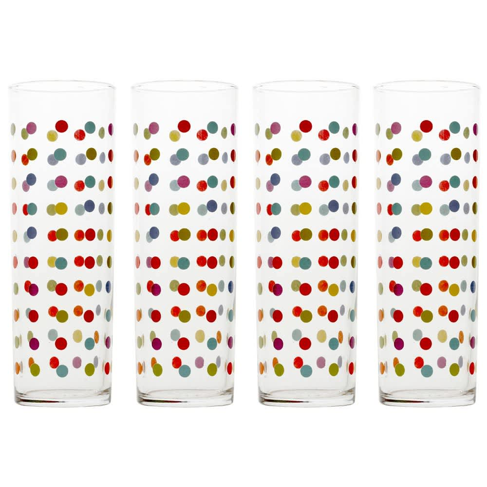 15 Patterned Glasses to Perk up Your Dinner Table: gallery image 1