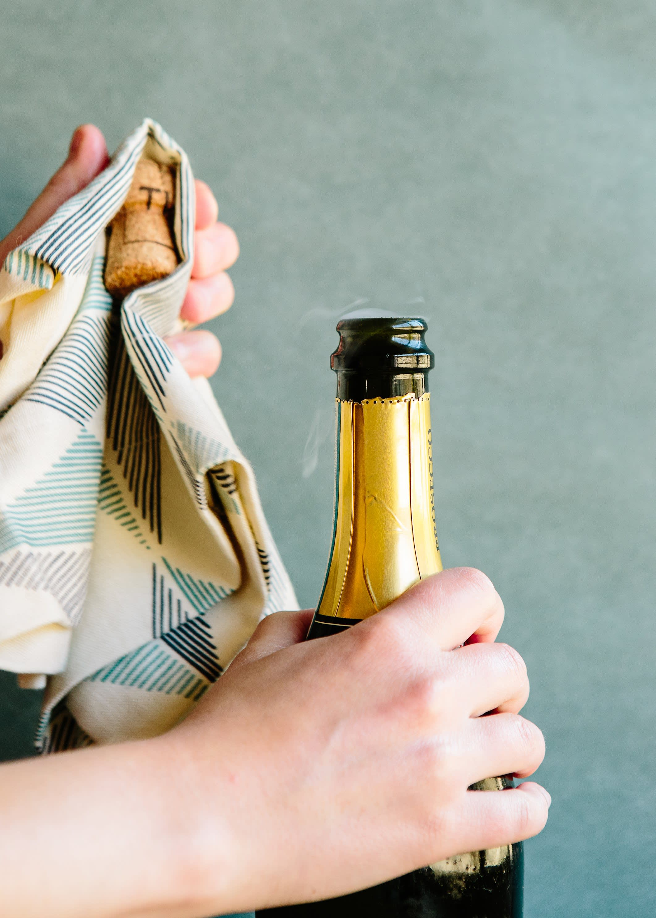 How To Open a Bottle of Champagne: gallery image 6