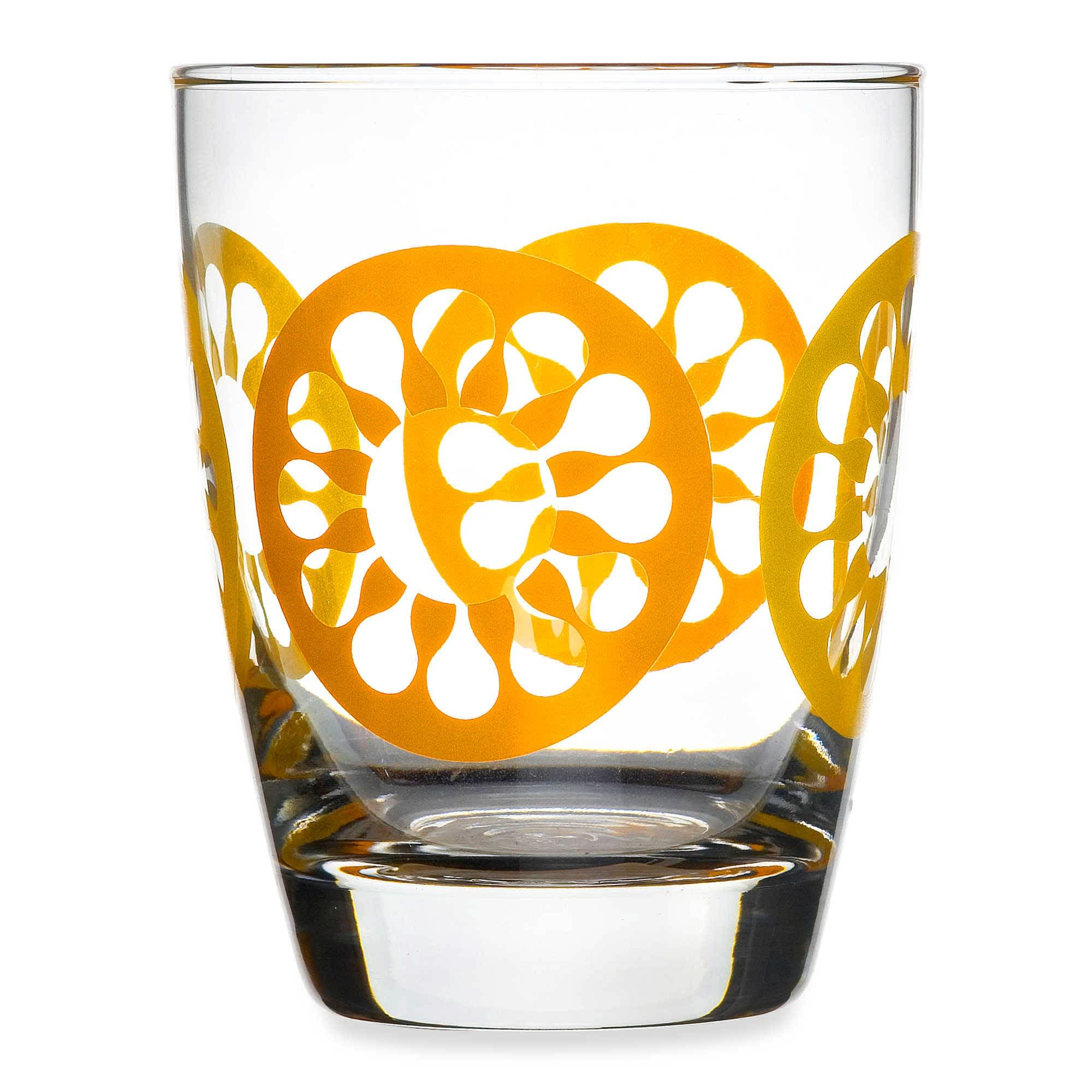 15 Patterned Glasses to Perk up Your Dinner Table: gallery image 7