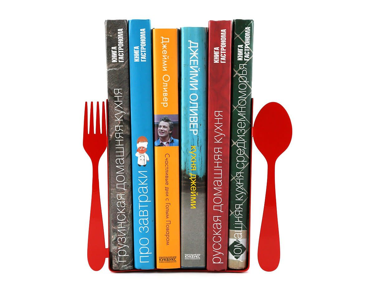 10 Clever Food-Themed Bookends for Your Cookbook Collection: gallery image 9