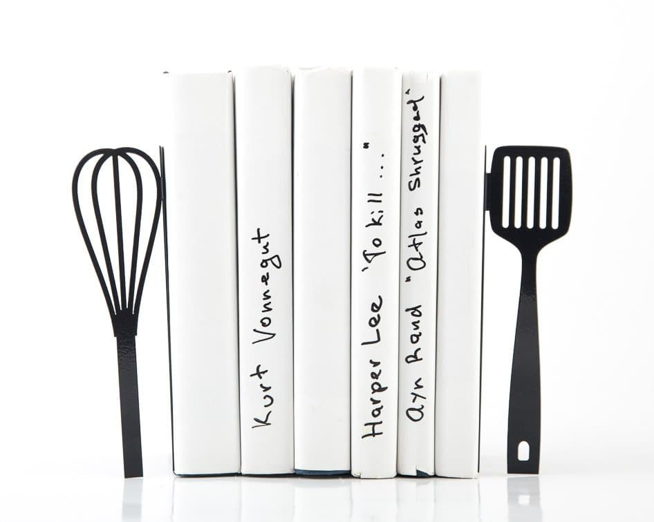 10 Clever Food-Themed Bookends for Your Cookbook Collection: gallery image 2