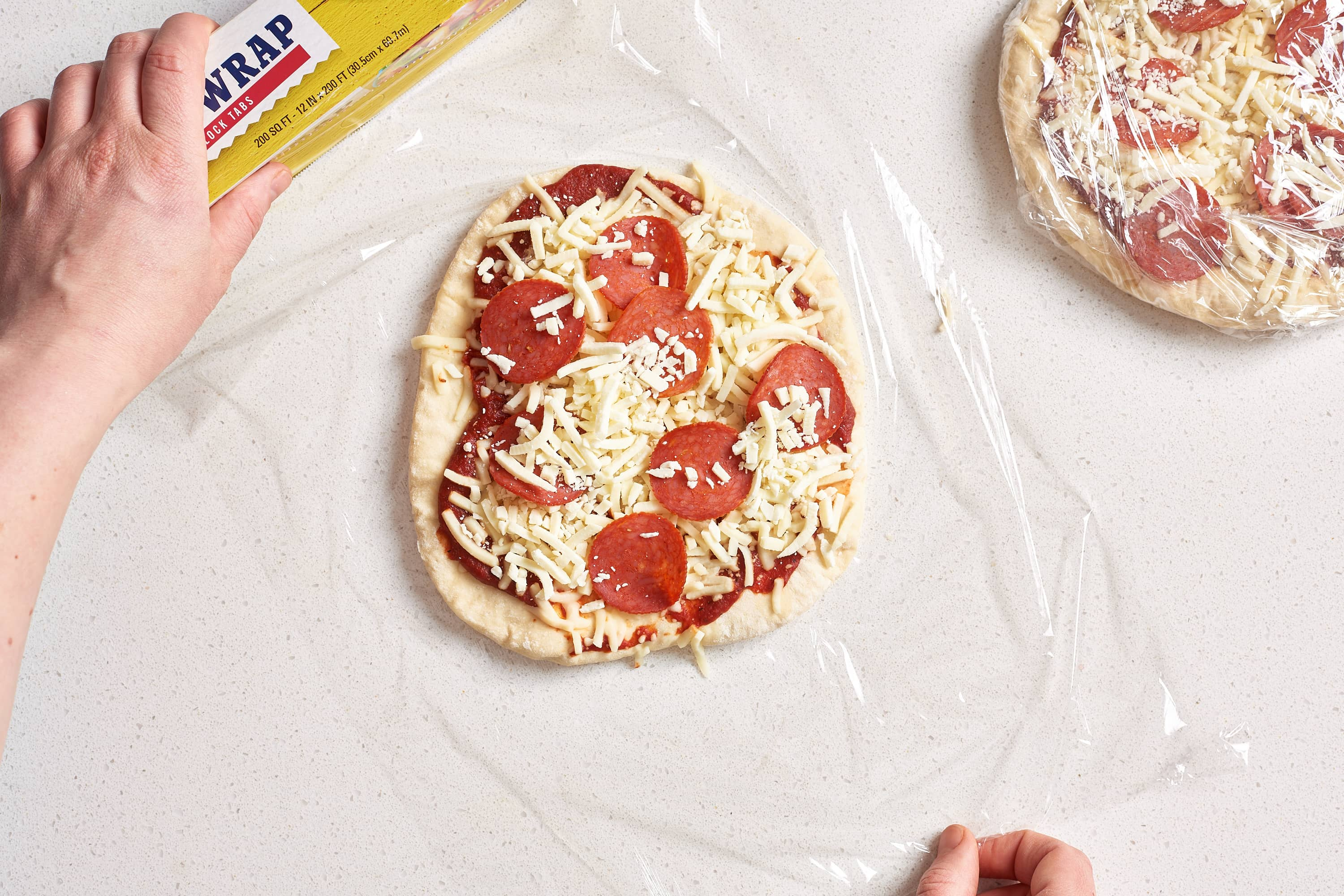 How To Make Frozen Pizzas at Home: gallery image 9