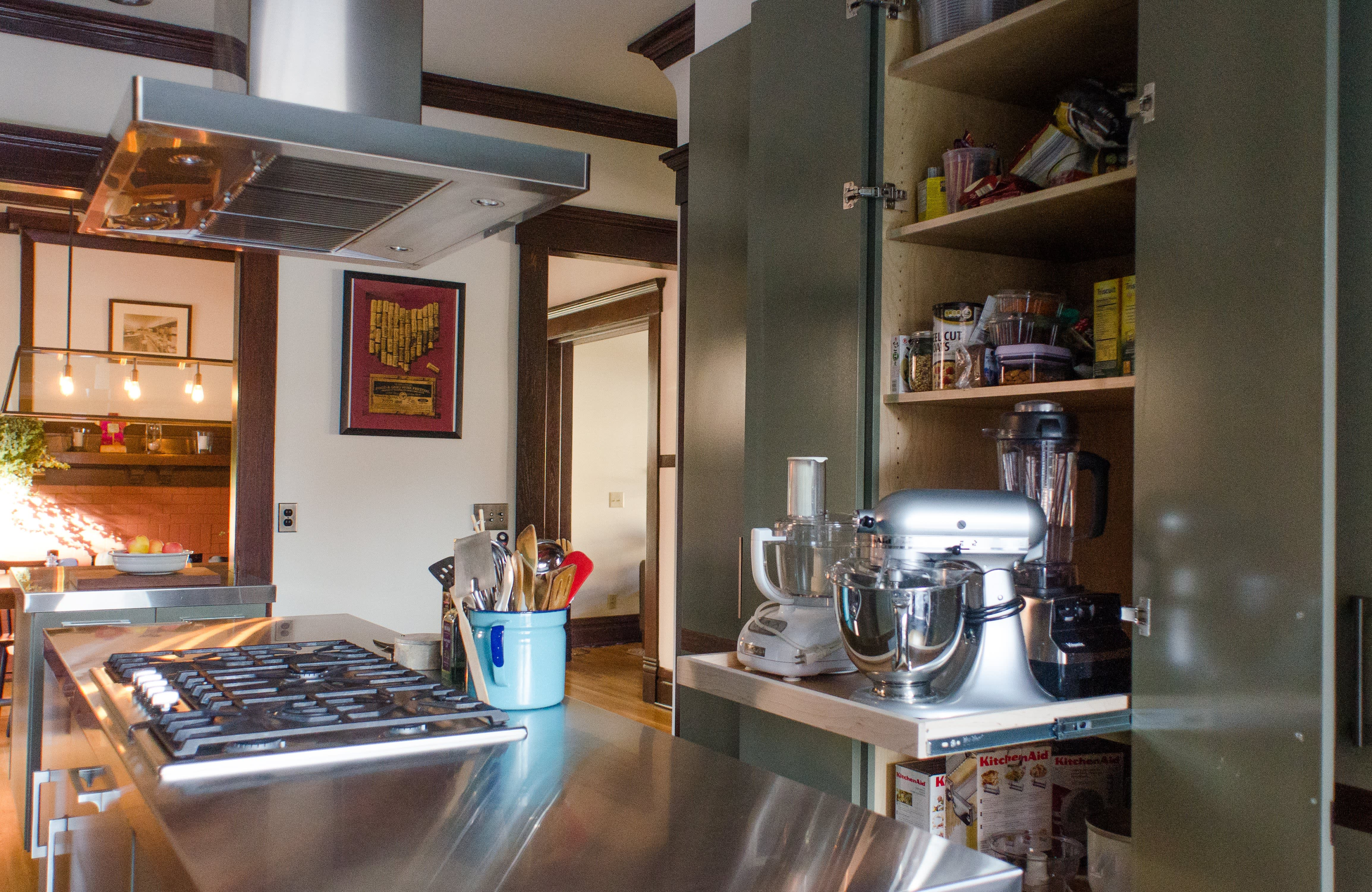 Bethia & Andy's Renovated Victorian Kitchen in Columbus: gallery image 18