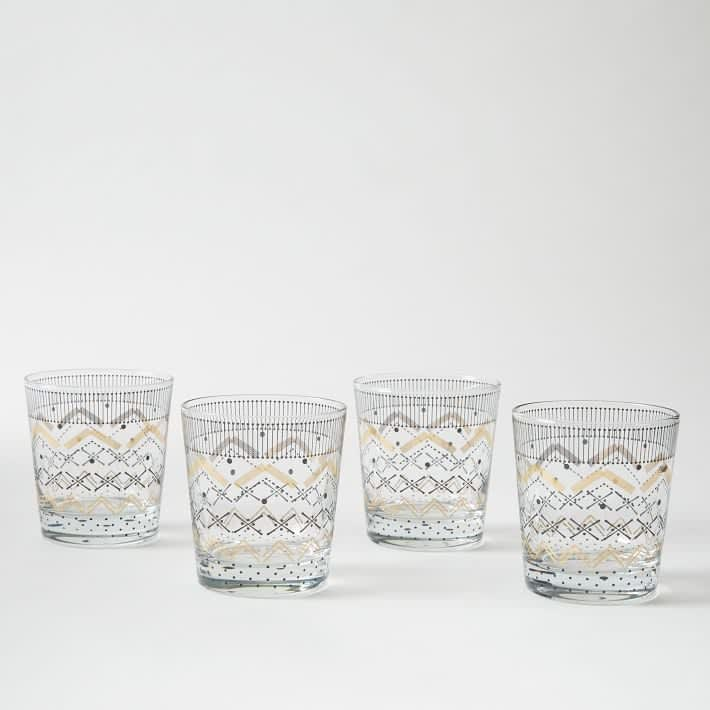 15 Patterned Glasses to Perk up Your Dinner Table: gallery image 3