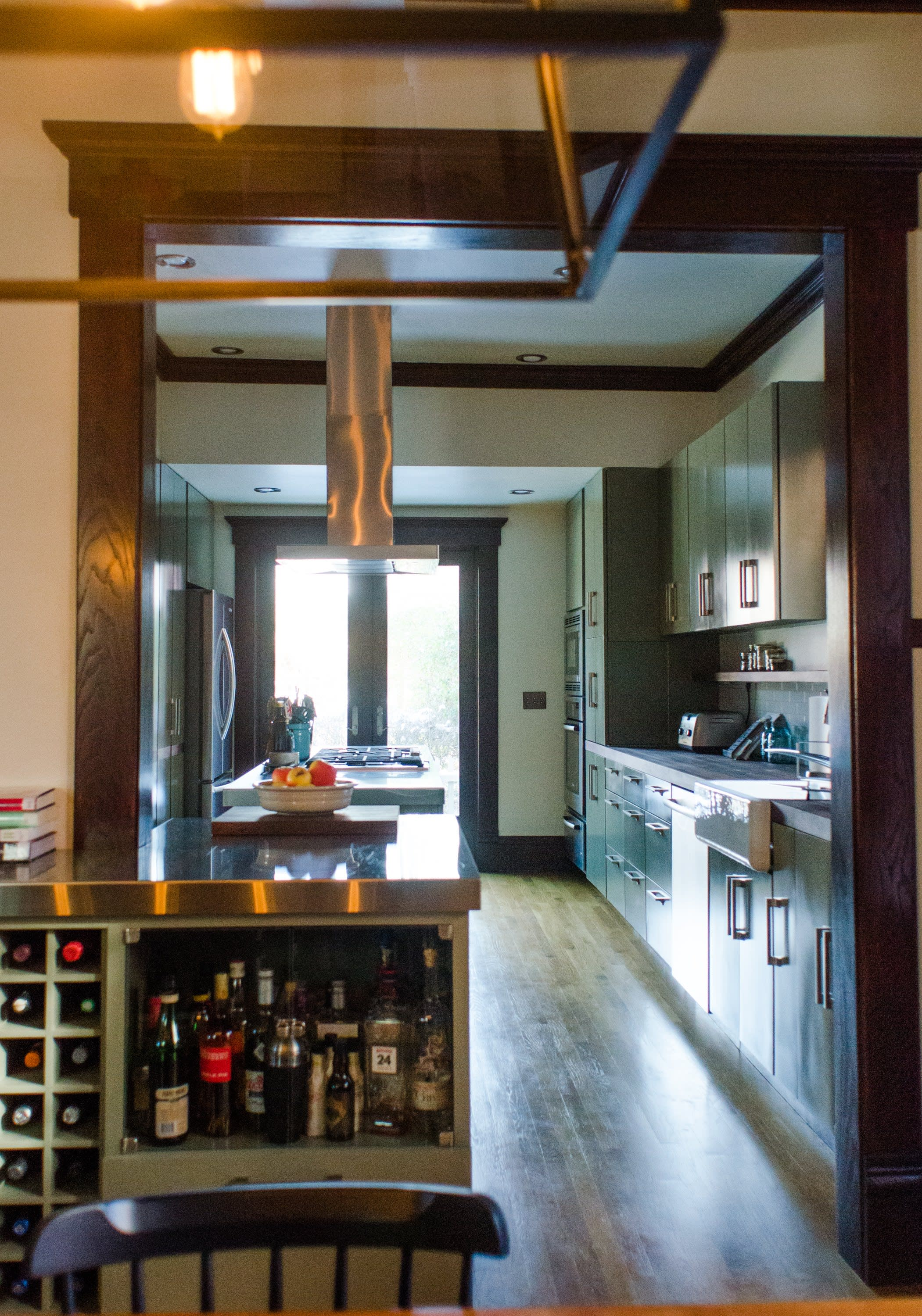 Bethia & Andy's Renovated Victorian Kitchen in Columbus: gallery image 2