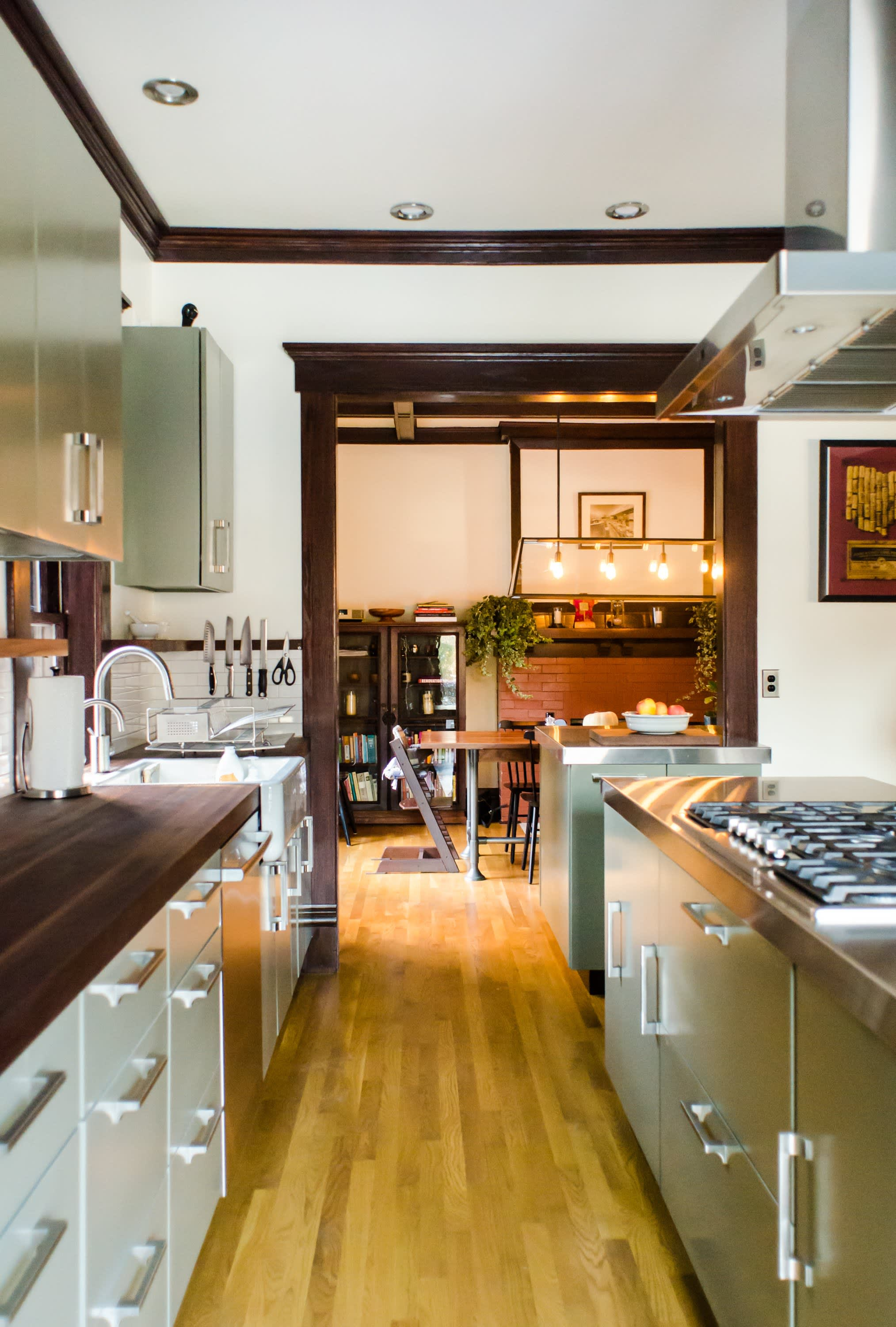 Bethia & Andy's Renovated Victorian Kitchen in Columbus: gallery image 1