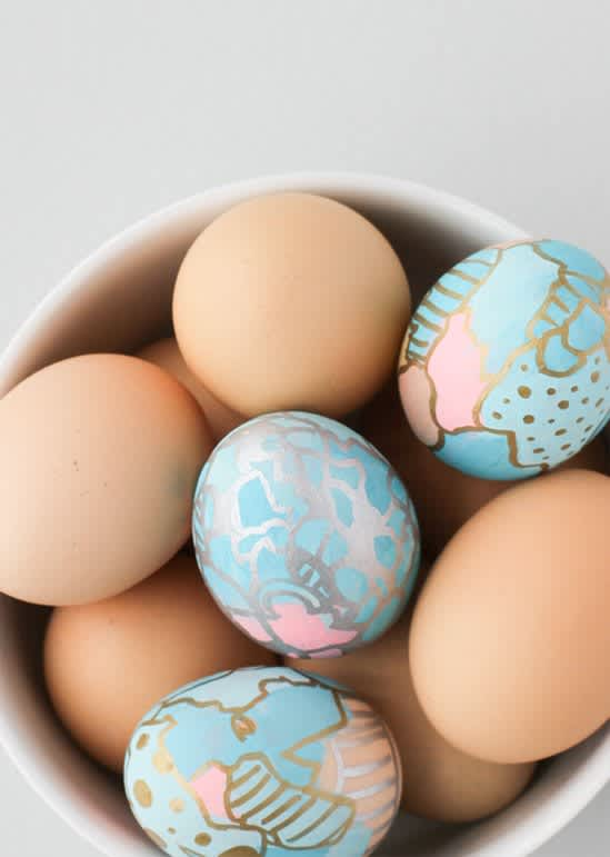 25 Must-Try Egg Decorating Ideas for Easter: gallery image 7