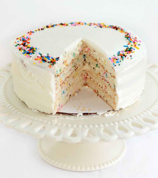 Recipe: Funfetti Birthday Cake