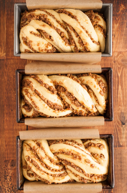 Recipe: Sticky Caramel-Pecan Babka Loaves: gallery image 9