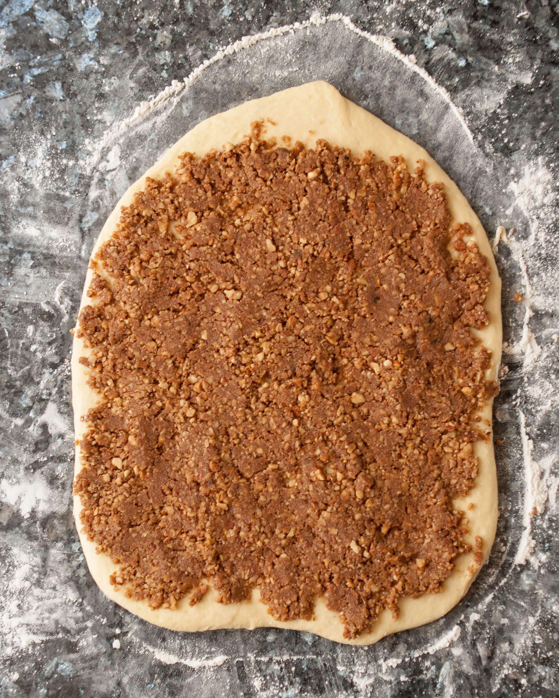 Recipe: Sticky Caramel-Pecan Babka Loaves: gallery image 1